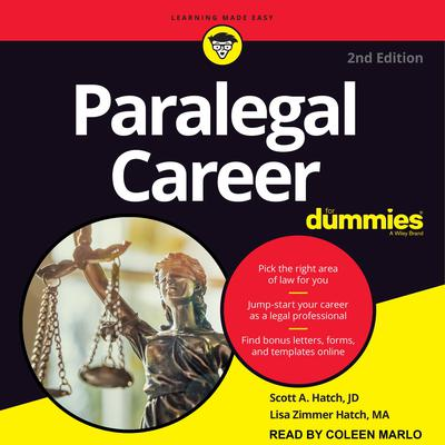 Paralegal Career For Dummies: 2nd Edition Audiobook, by Lisa Zimmer Hatch