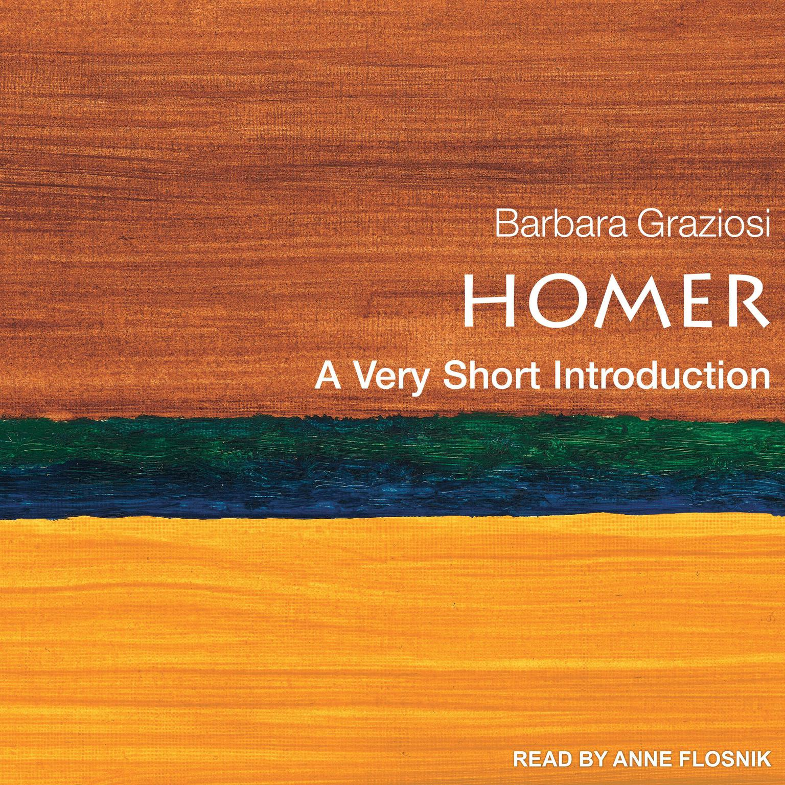 Printable Homer: A Very Short Introduction Audiobook Cover Art