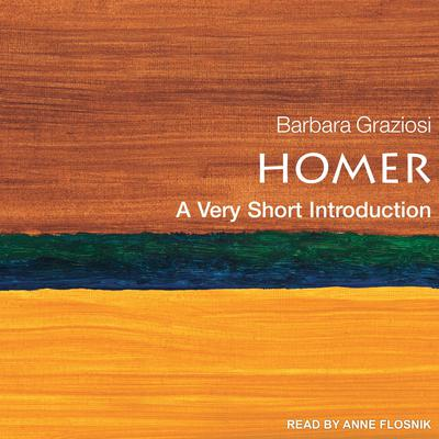 Homer: A Very Short Introduction Audiobook, by Barbara Graziosi