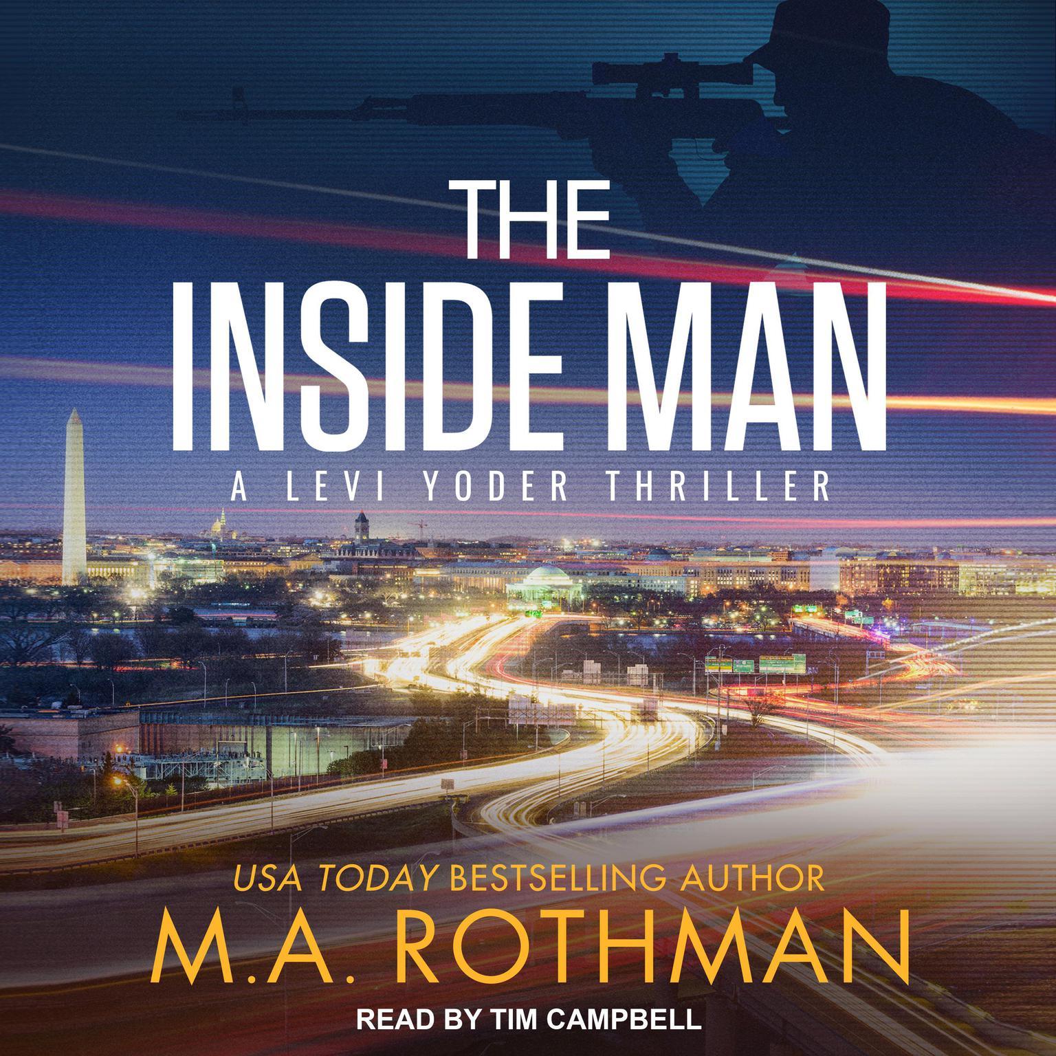 Printable The Inside Man Audiobook Cover Art
