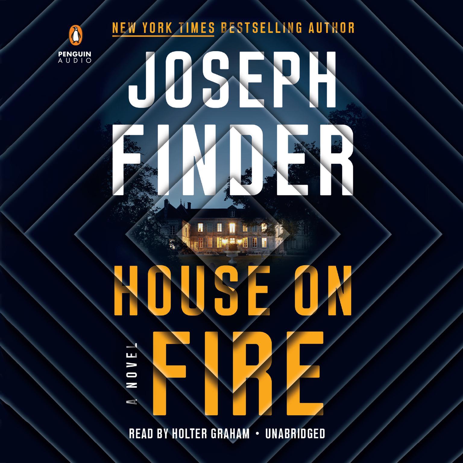 Printable House on Fire: A Novel Audiobook Cover Art