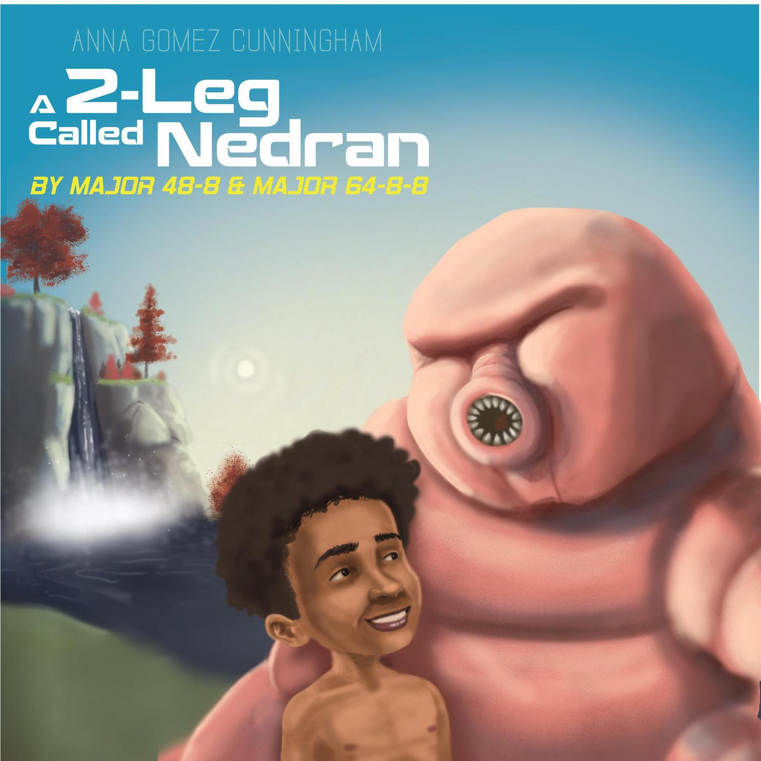Printable A 2-Leg Called Nedran Audiobook Cover Art