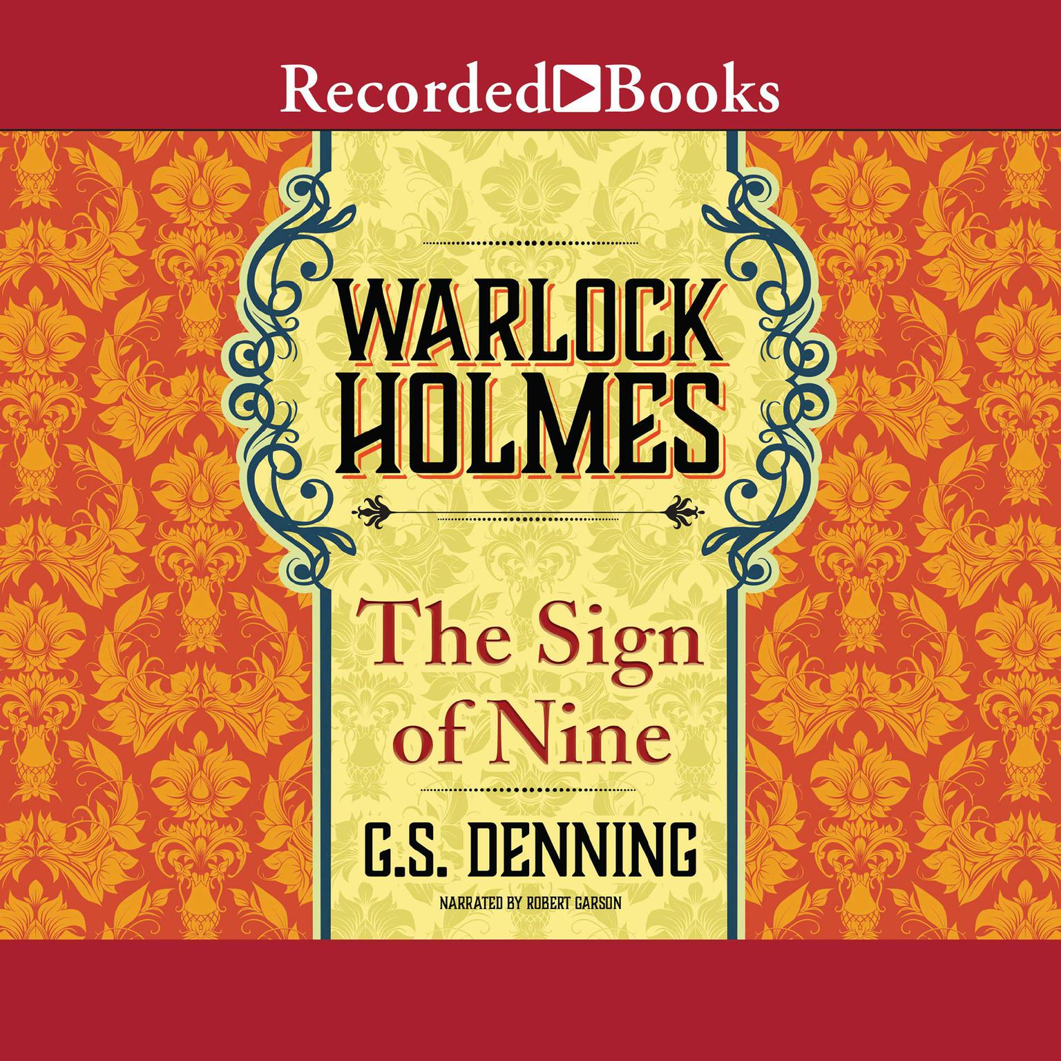 Printable Warlock Holmes - The Sign of the Nine Audiobook Cover Art