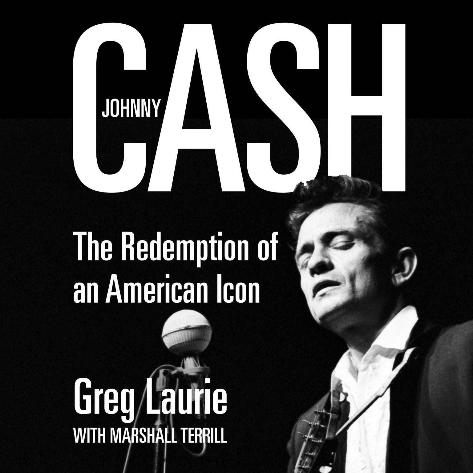 Printable Johnny Cash: The Redemption of an American Icon Audiobook Cover Art