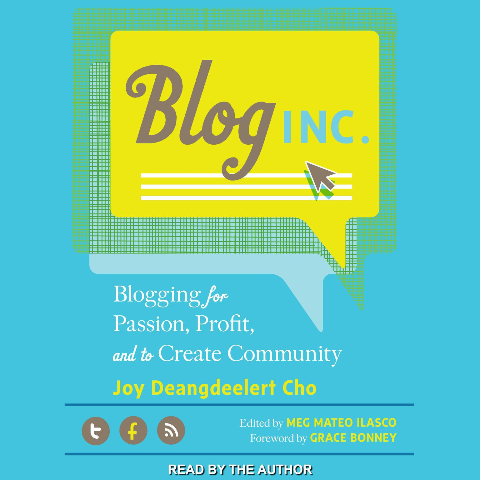 Printable Blog, Inc.: Blogging for Passion, Profit, and to Create Community Audiobook Cover Art