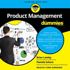 Product Management For Dummies Audiobook, by Brian Lawley, Pamela Schure