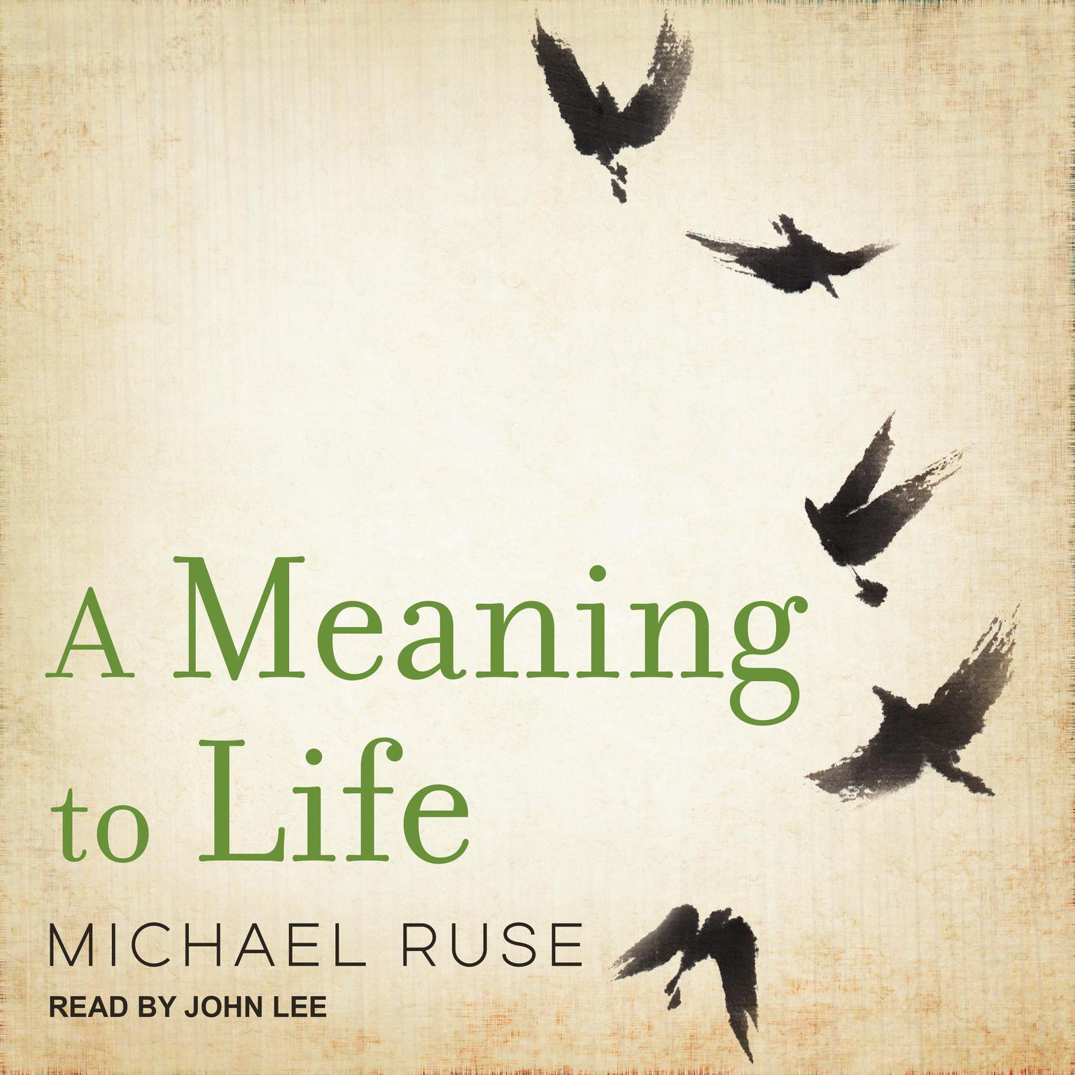 A Meaning to Life Audiobook, by Michael Ruse