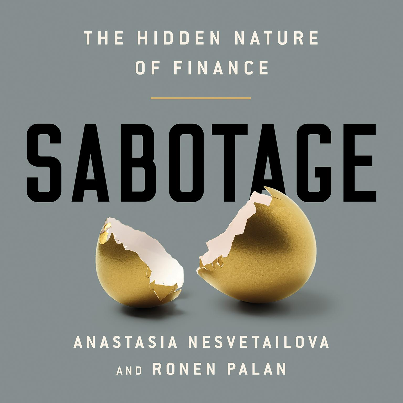 Printable Sabotage: The Hidden Nature of Finance Audiobook Cover Art