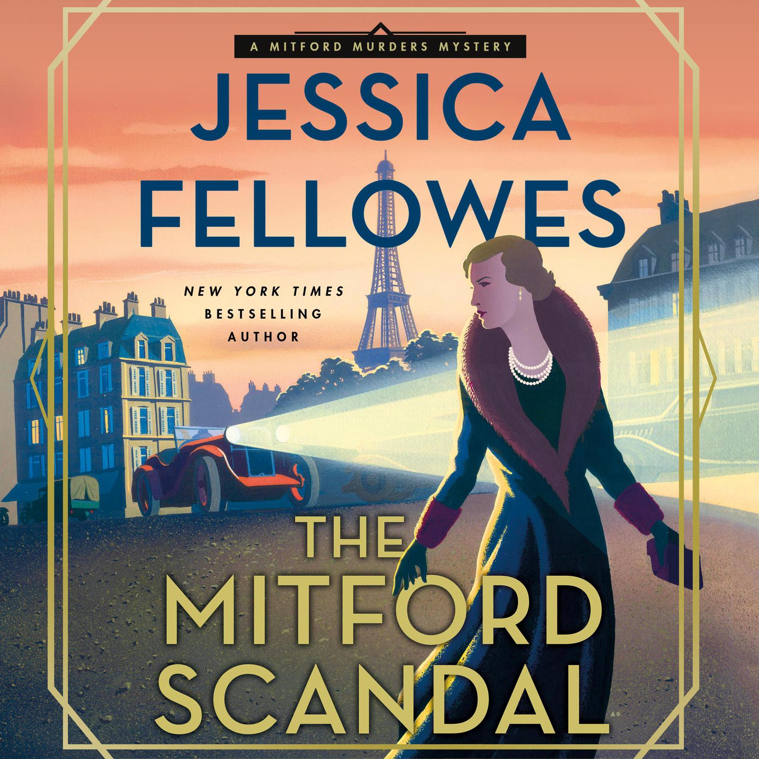 Printable The Mitford Scandal: A Mitford Murders Mystery Audiobook Cover Art