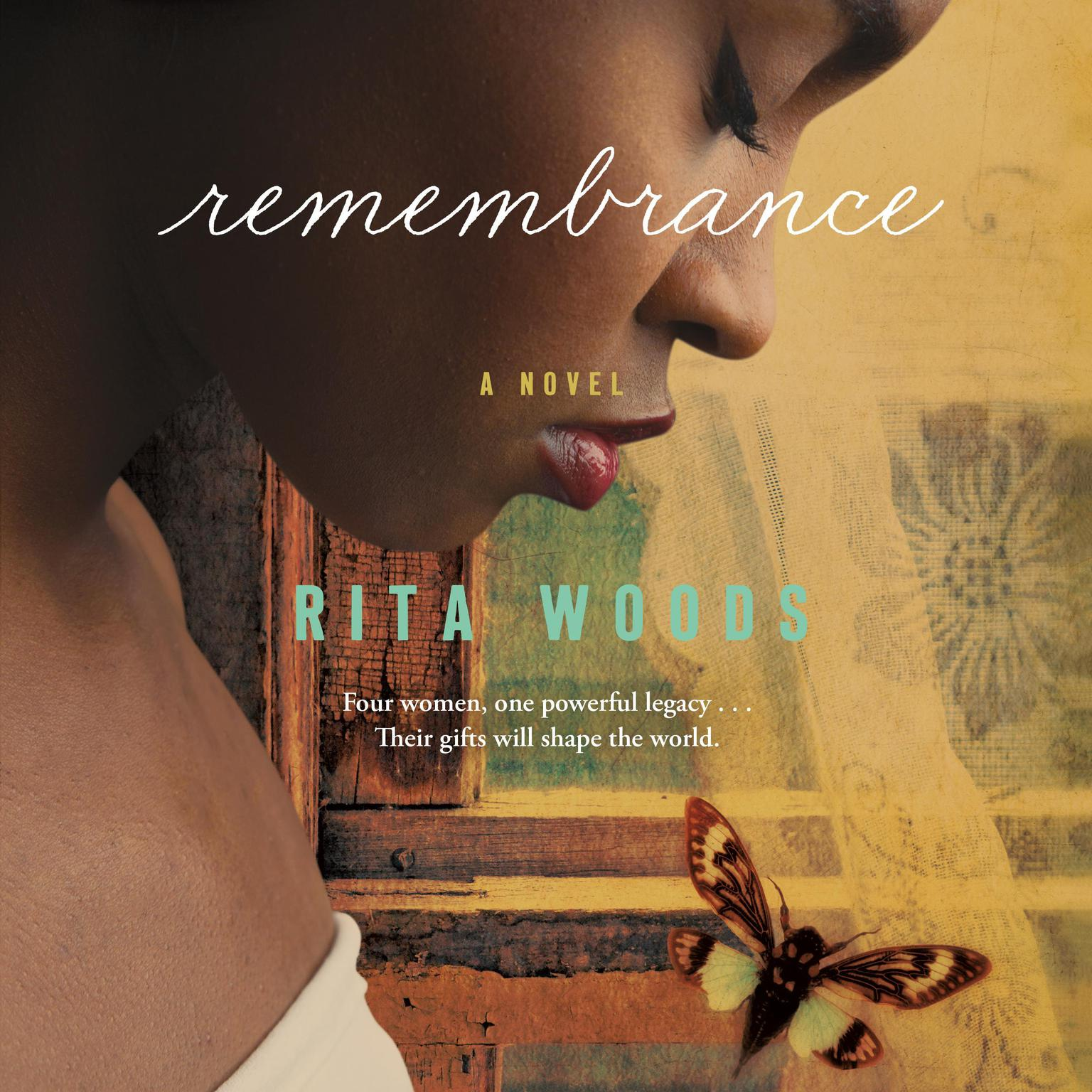 Printable Remembrance: A Novel Audiobook Cover Art