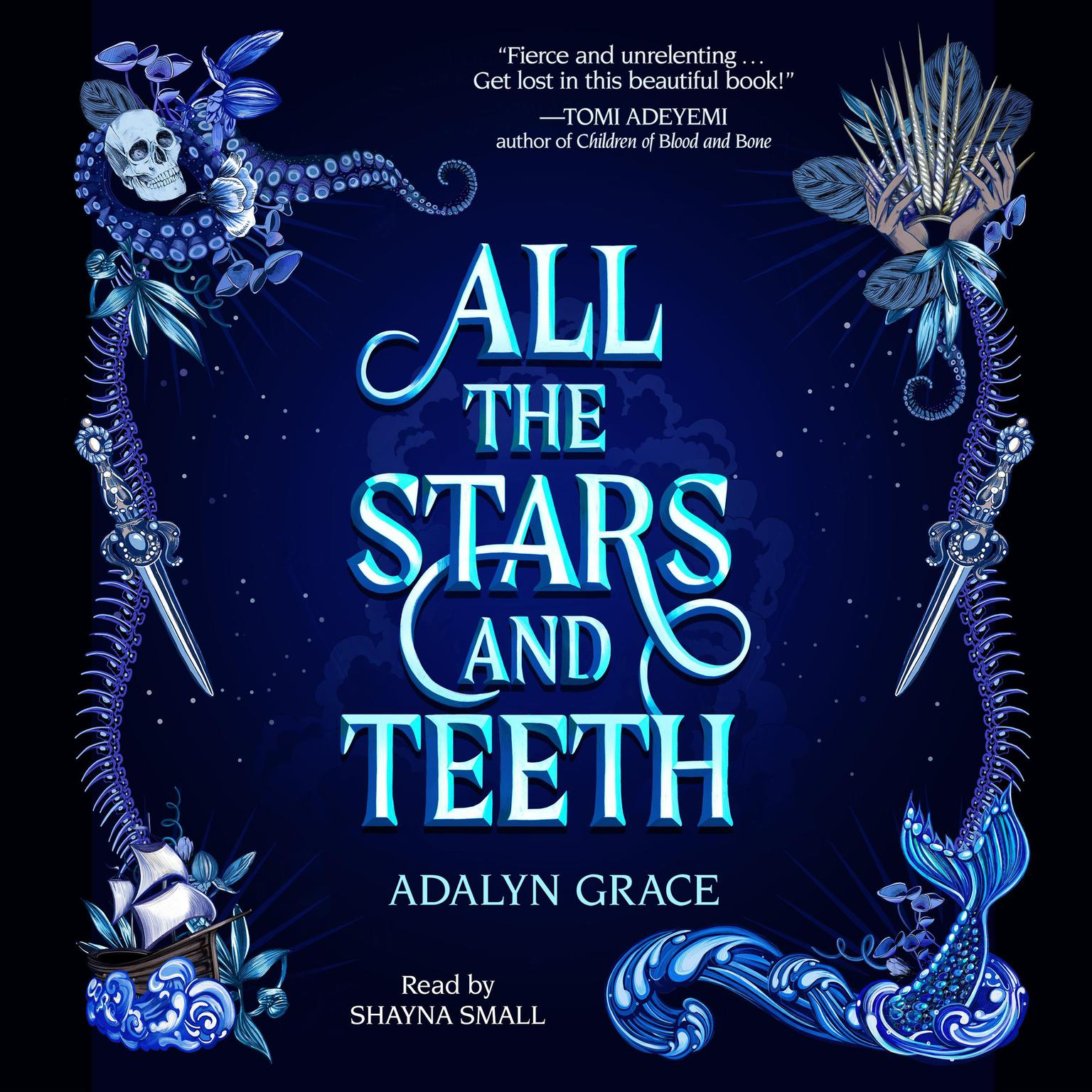 Printable All the Stars and Teeth Audiobook Cover Art