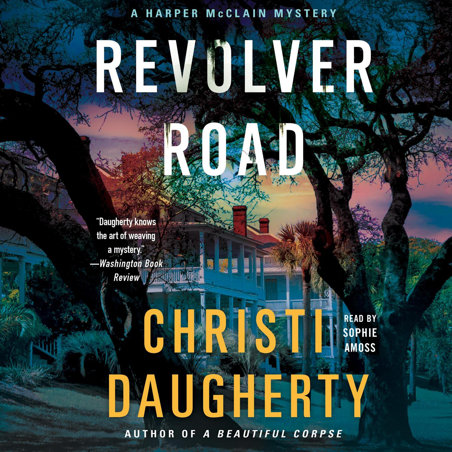 Printable Revolver Road: A Harper McClain Mystery Audiobook Cover Art
