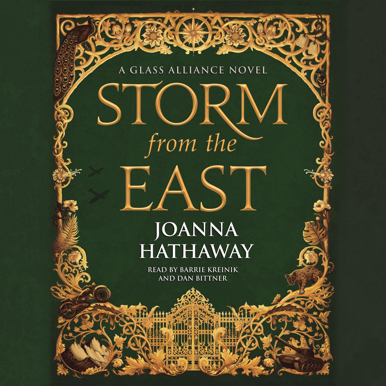 Printable Storm from the East Audiobook Cover Art