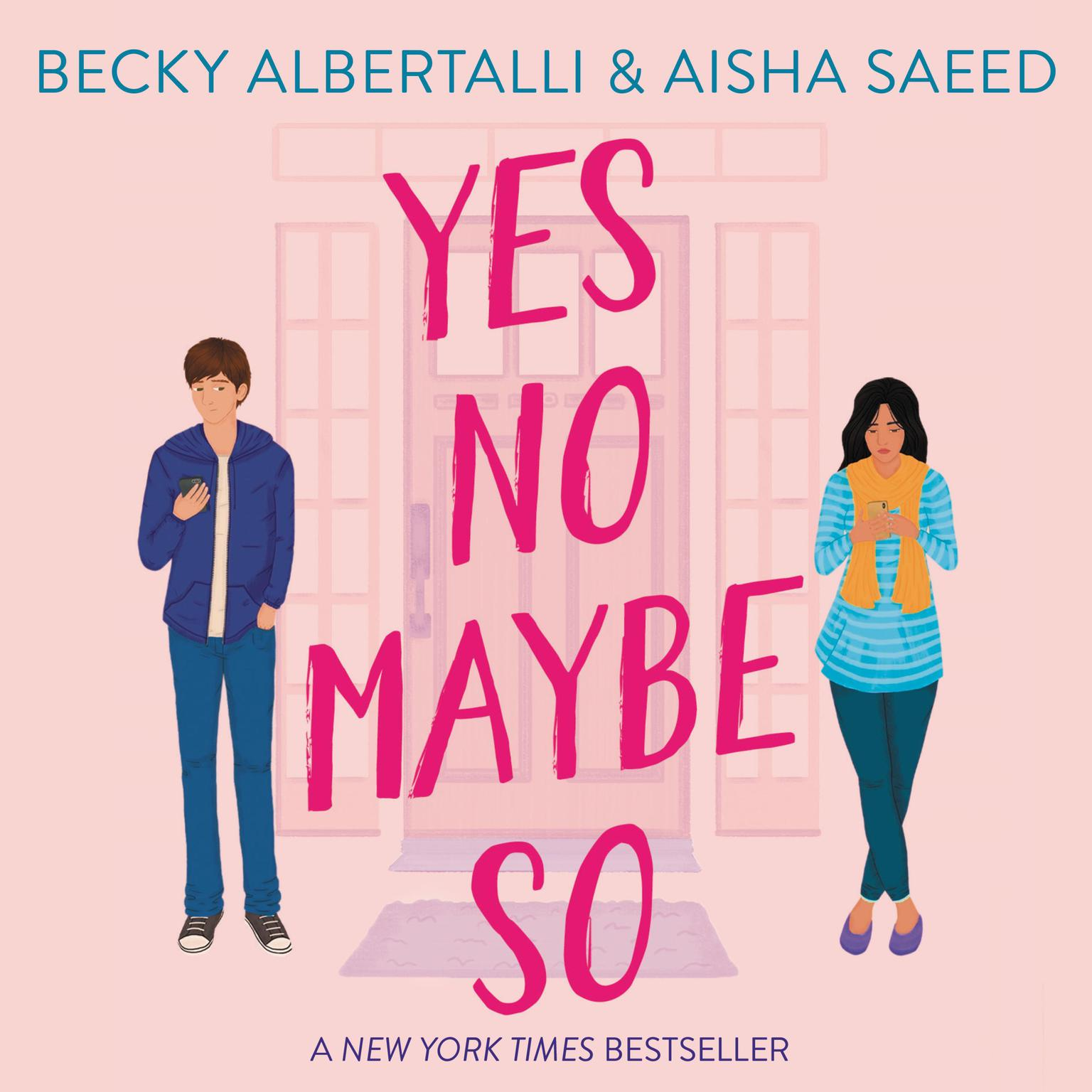 Printable Yes No Maybe So Audiobook Cover Art