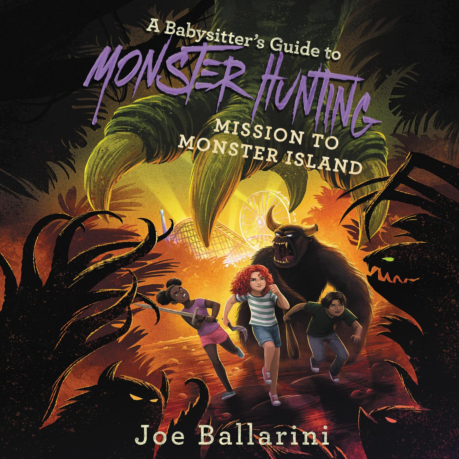 Printable A Babysitter's Guide to Monster Hunting #3: Mission to Monster Island Audiobook Cover Art
