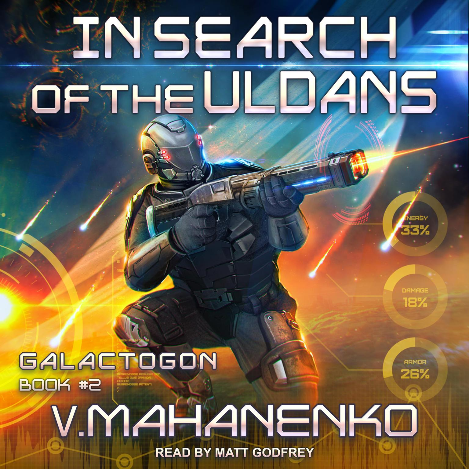 Printable In Search of the Uldans Audiobook Cover Art