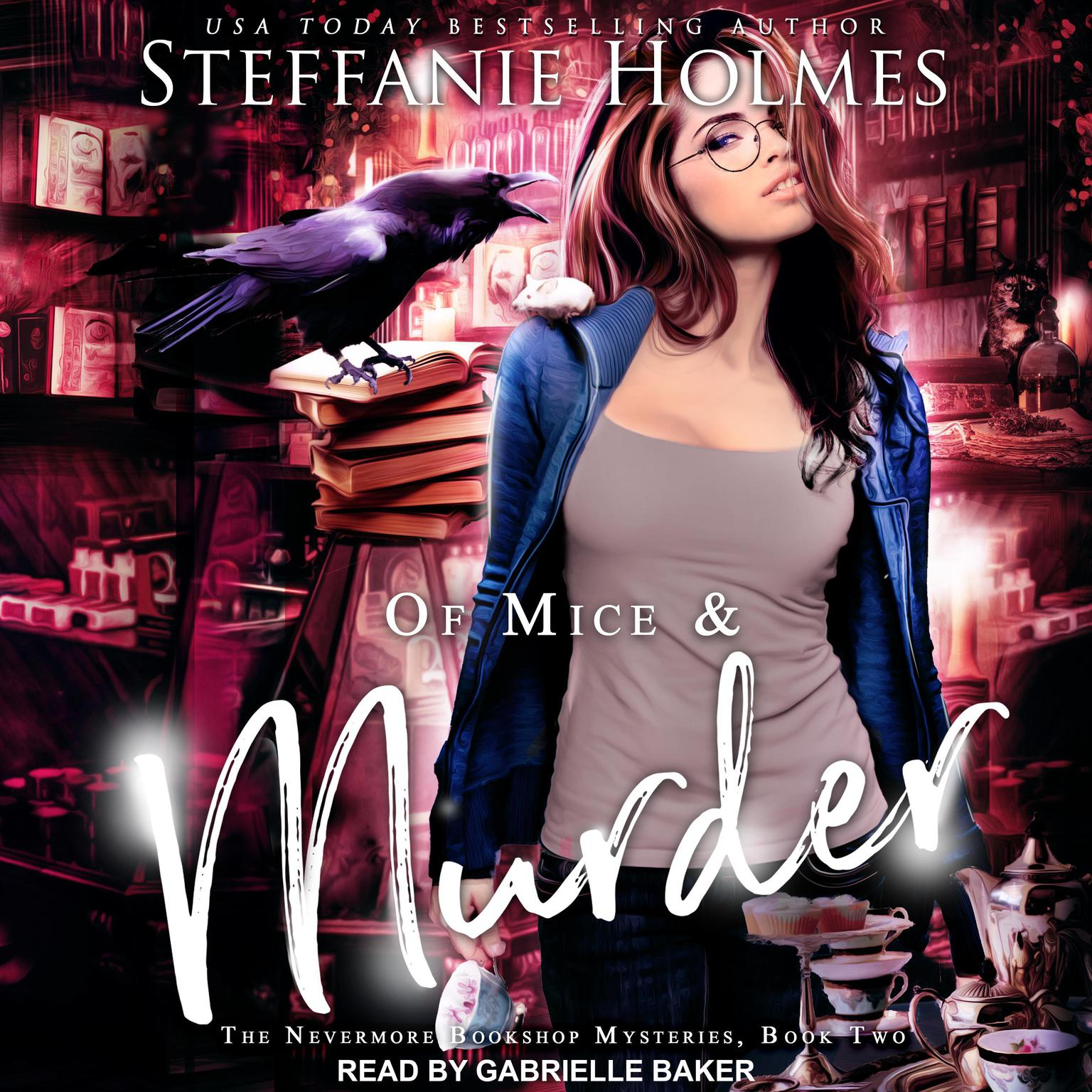 Printable Of Mice and Murder Audiobook Cover Art