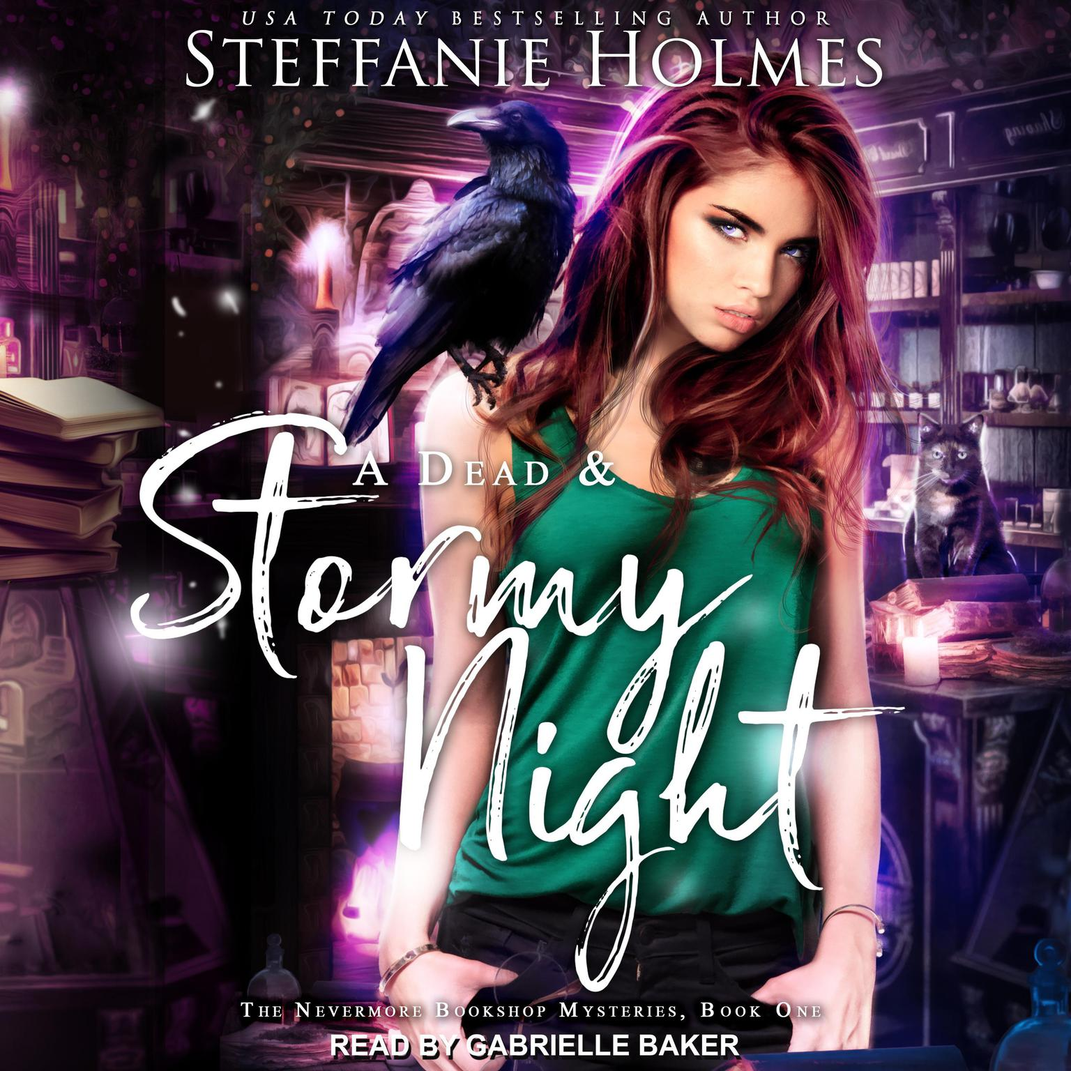 Printable A Dead and Stormy Night Audiobook Cover Art