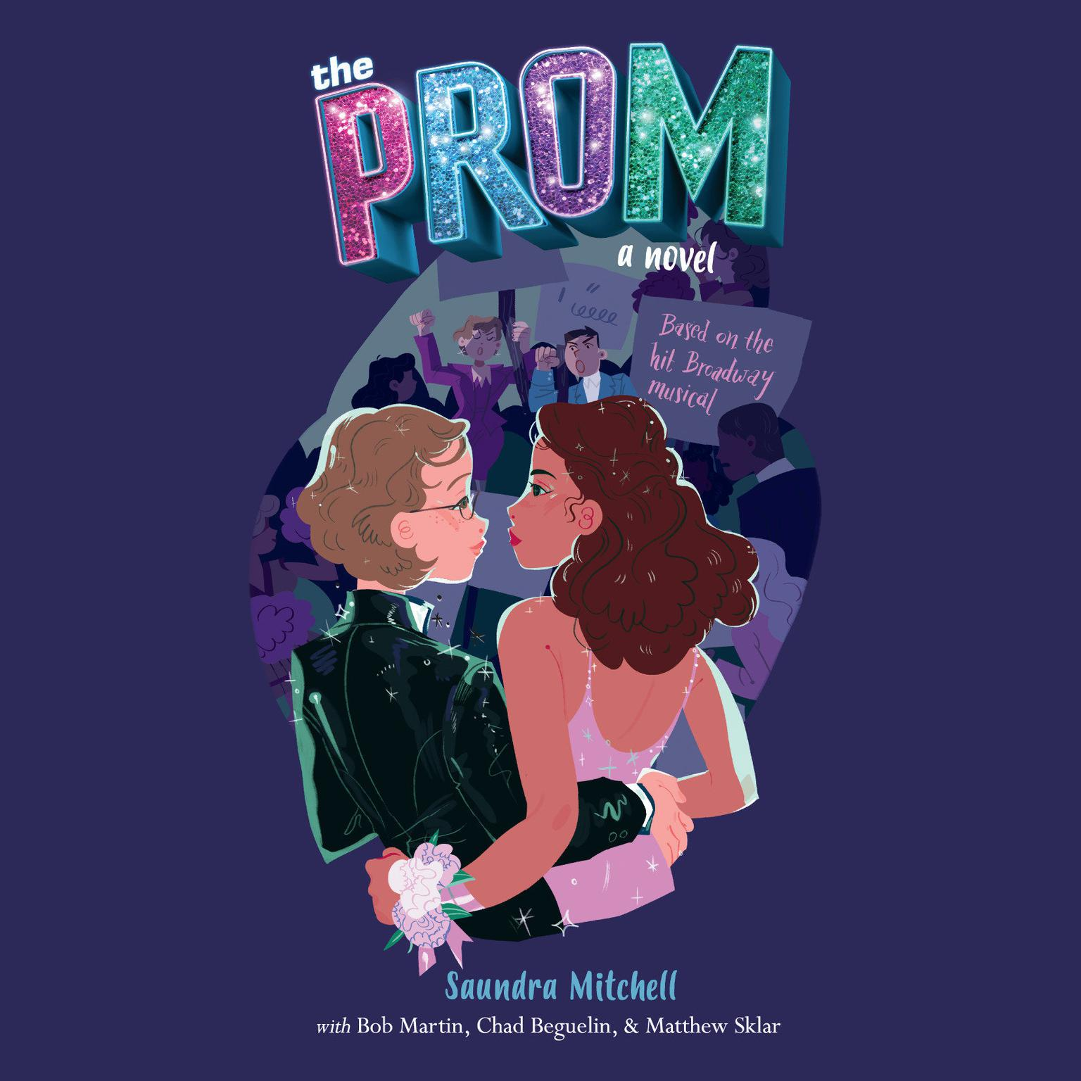 Printable The Prom: A Novel Based on the Hit Broadway Musical Audiobook Cover Art