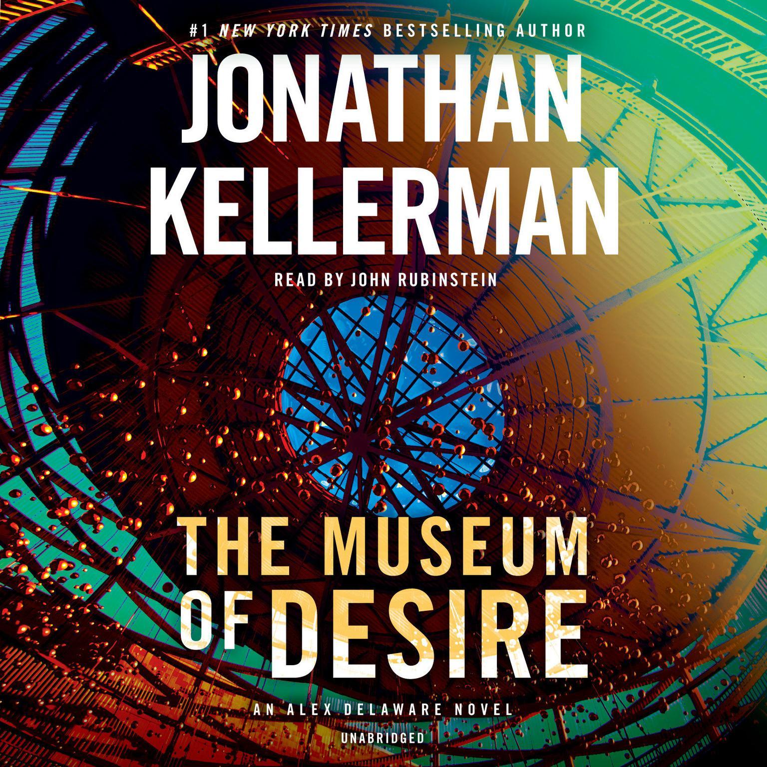 Printable The Museum of Desire: An Alex Delaware Novel Audiobook Cover Art