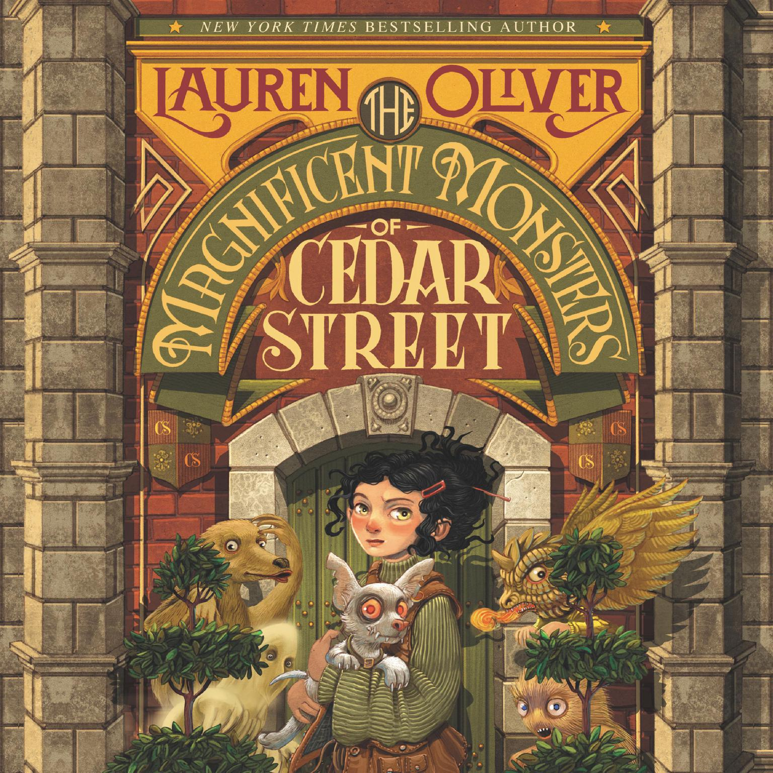 Printable The Magnificent Monsters of Cedar Street Audiobook Cover Art