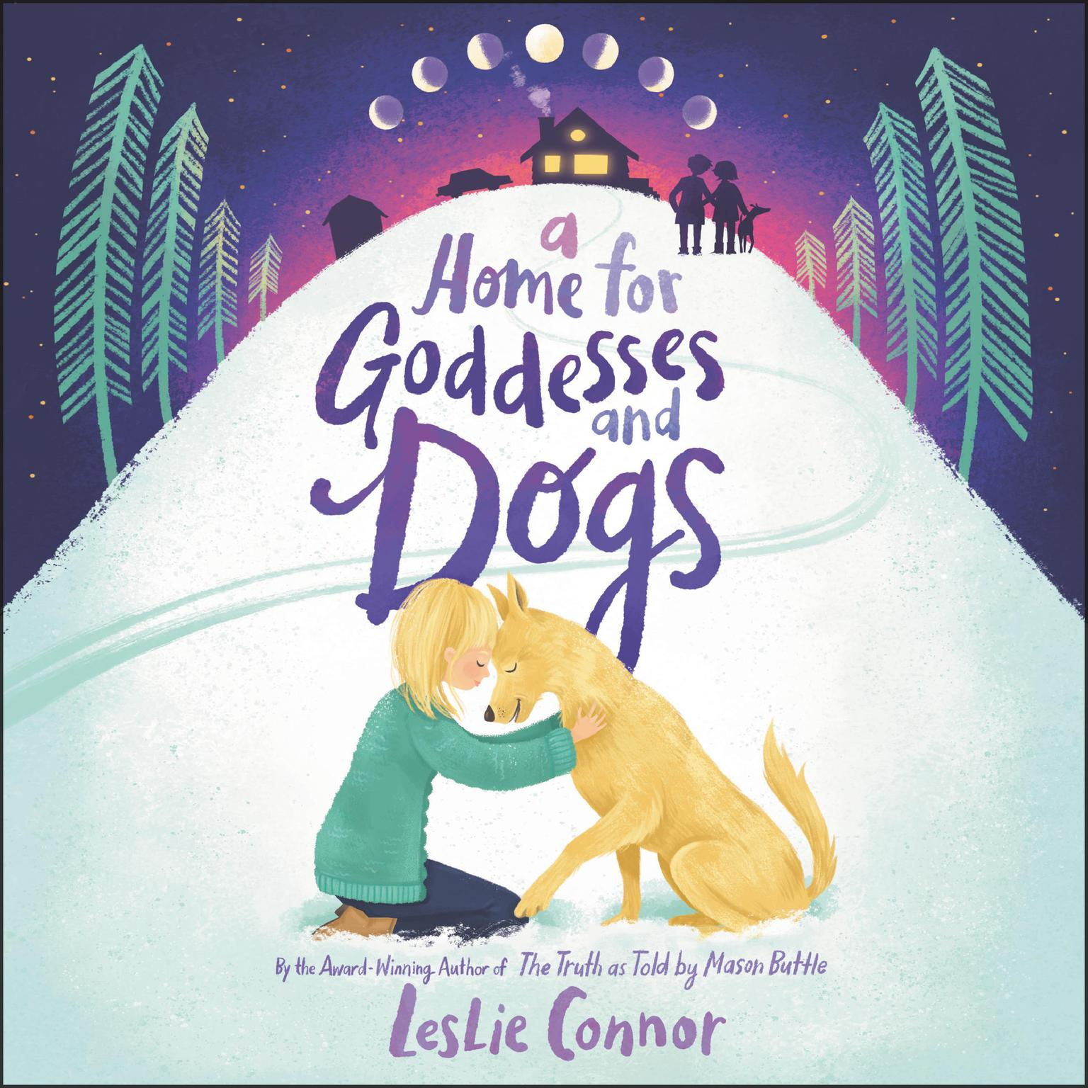 Printable A Home for Goddesses and Dogs Audiobook Cover Art