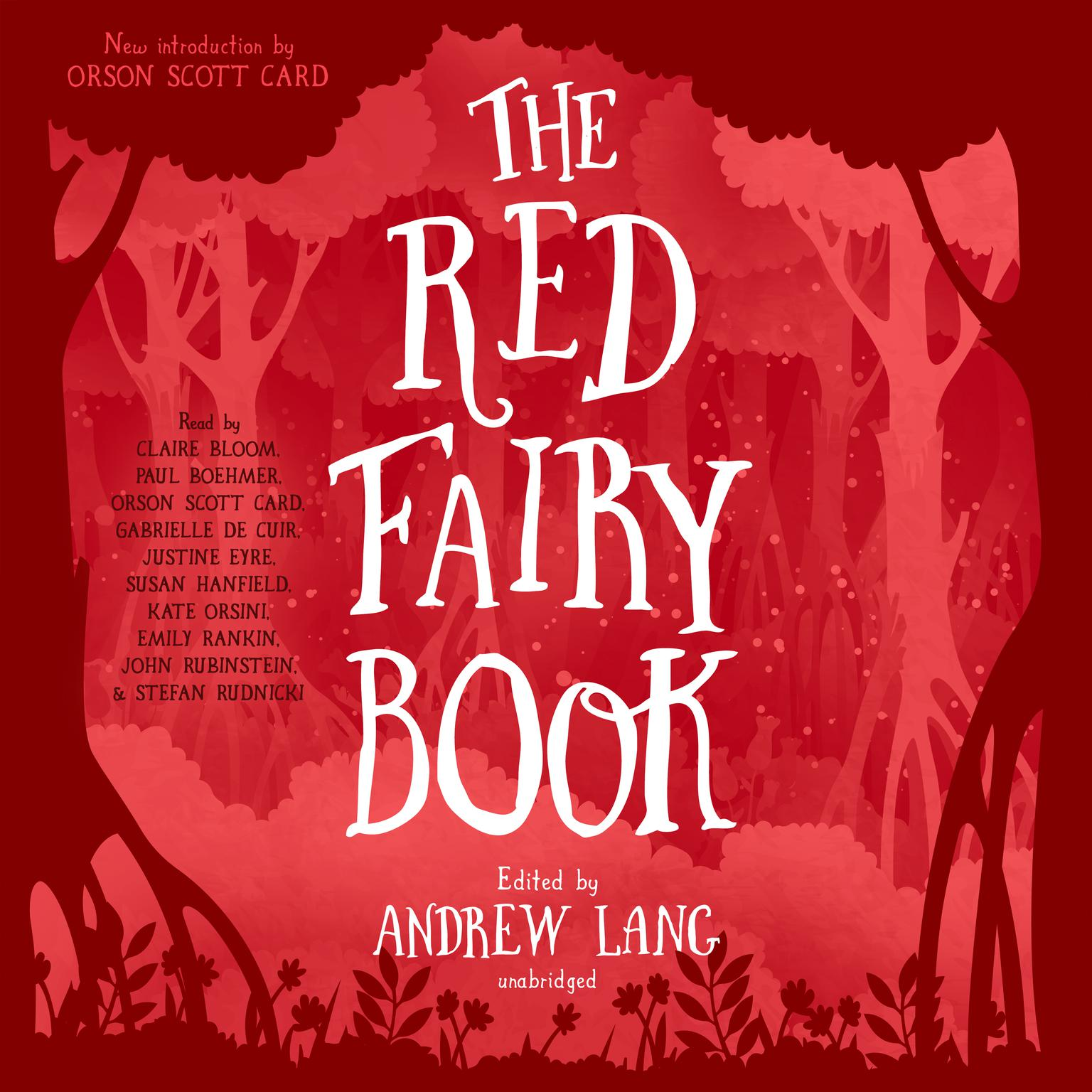 Printable The Red Fairy Book Audiobook Cover Art