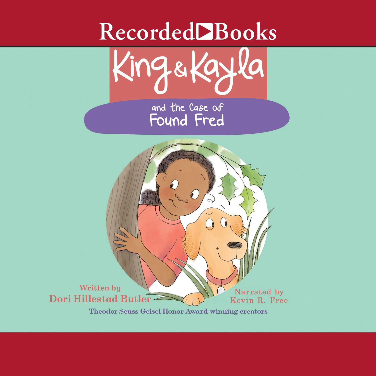 Printable King & Kayla and the Case of Found Fred Audiobook Cover Art