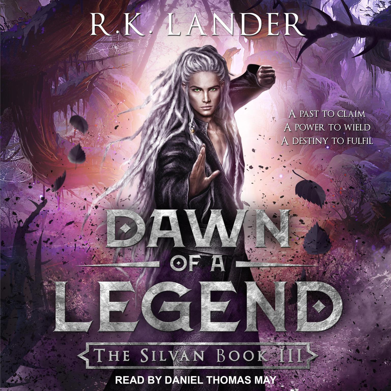 Printable Dawn of a Legend Audiobook Cover Art