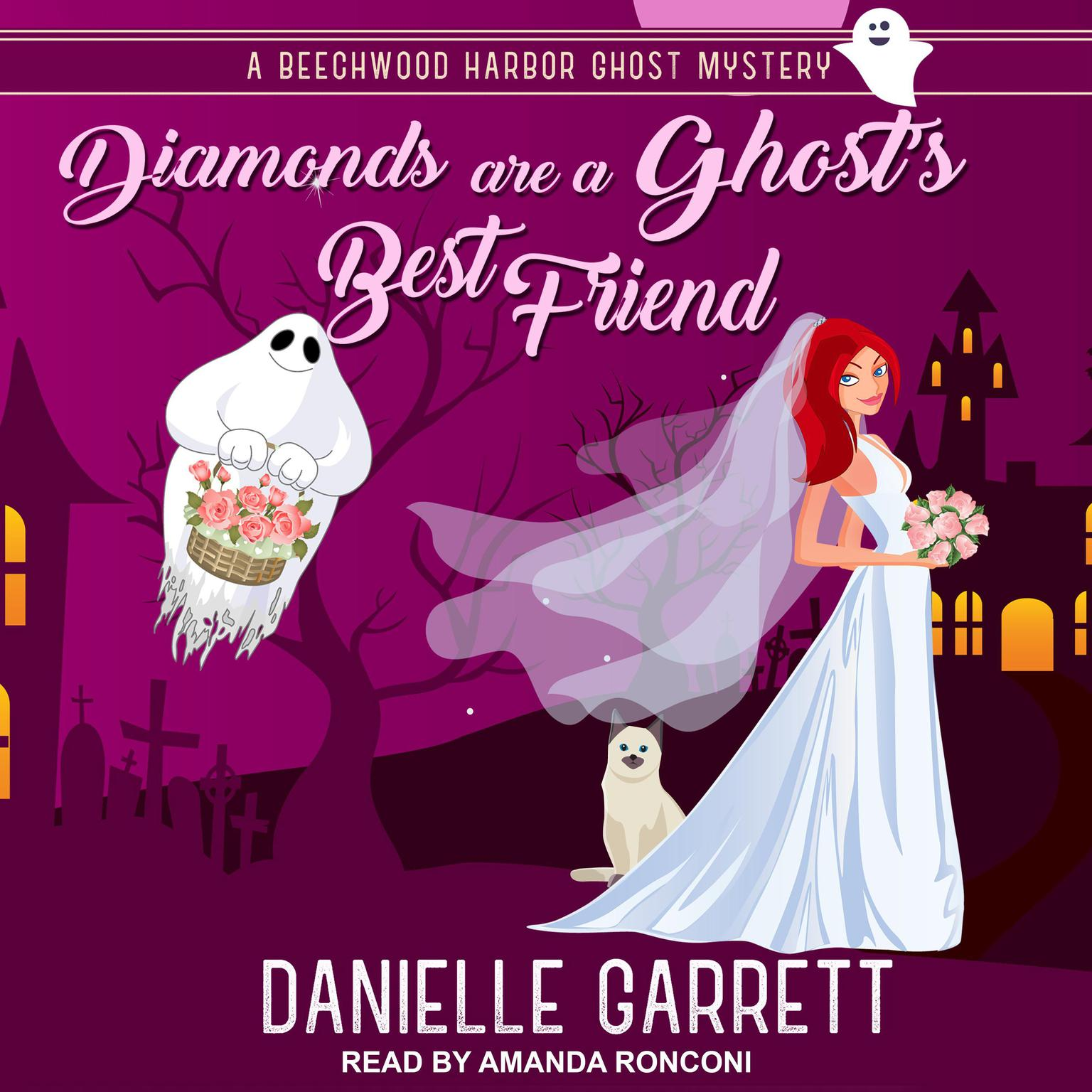 Printable Diamonds are a Ghost's Best Friend Audiobook Cover Art