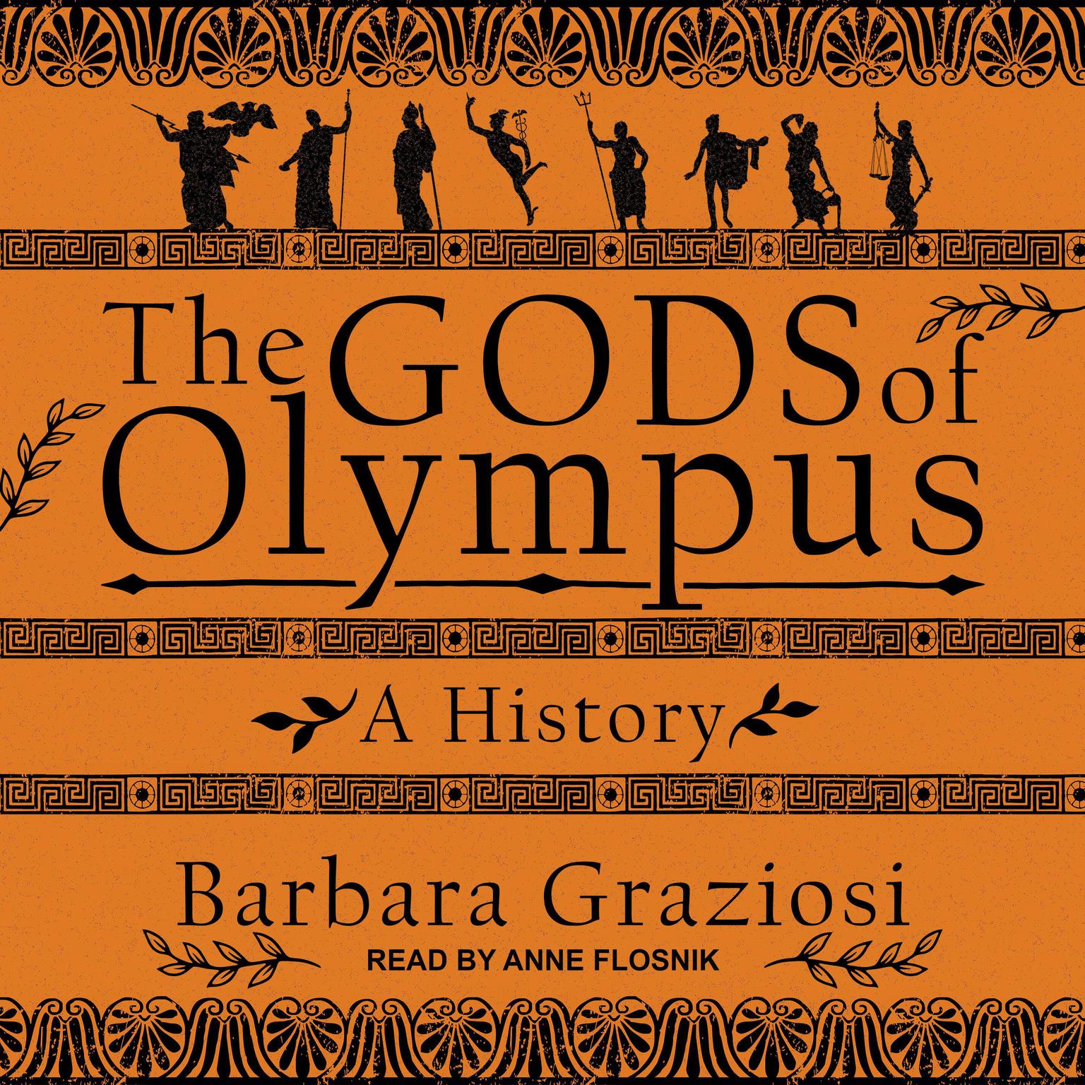 Printable The Gods of Olympus: A History Audiobook Cover Art