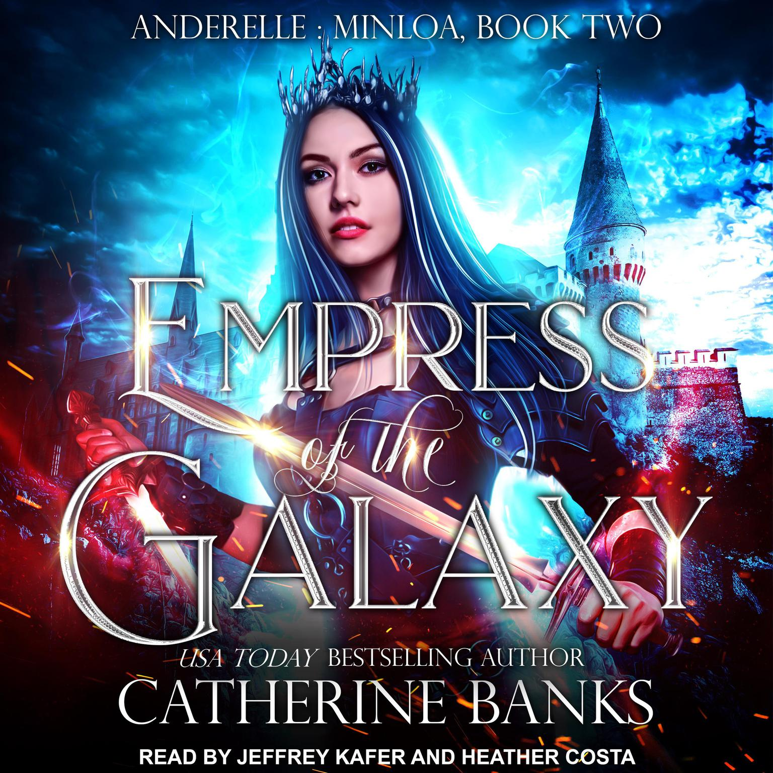 Printable Empress of the Galaxy Audiobook Cover Art