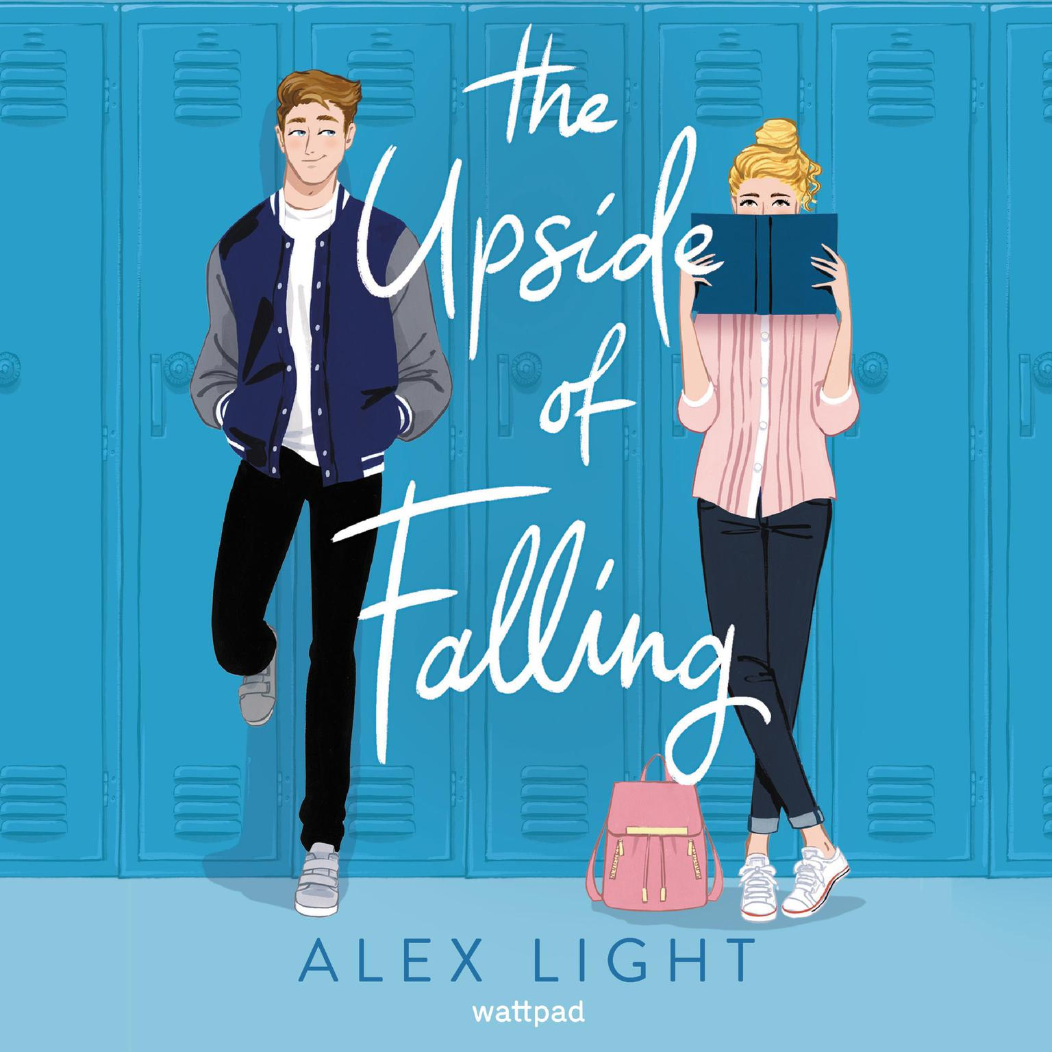 Printable The Upside of Falling Audiobook Cover Art