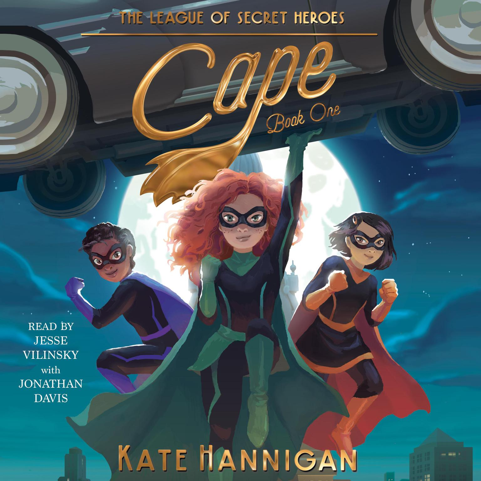Cape Audiobook, by Kate  Hannigan