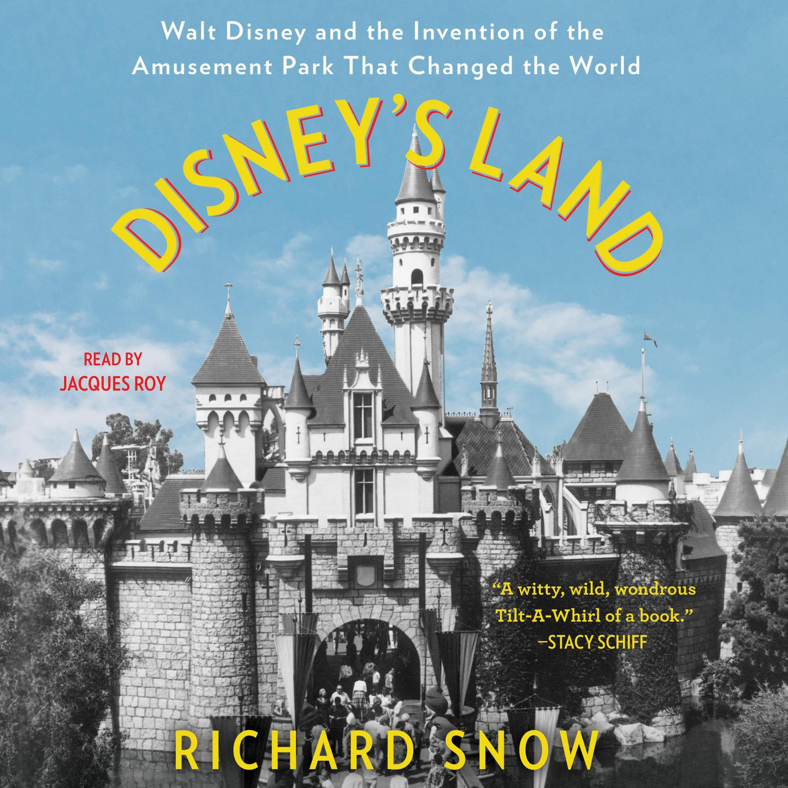 Printable Disney's Land: Walt Disney and the Invention of the Amusement Park that Changed the World Audiobook Cover Art
