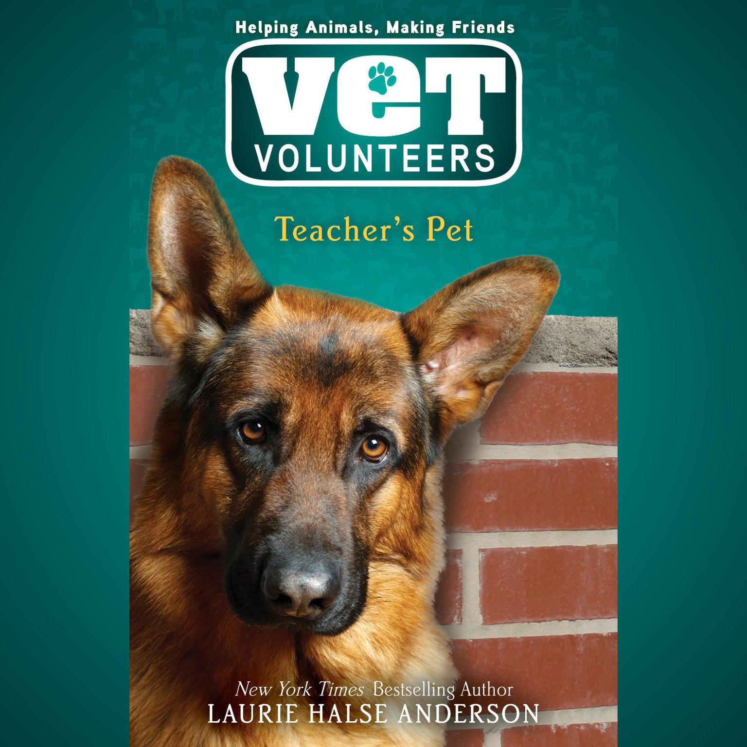 Printable Teacher's Pet #7 Audiobook Cover Art