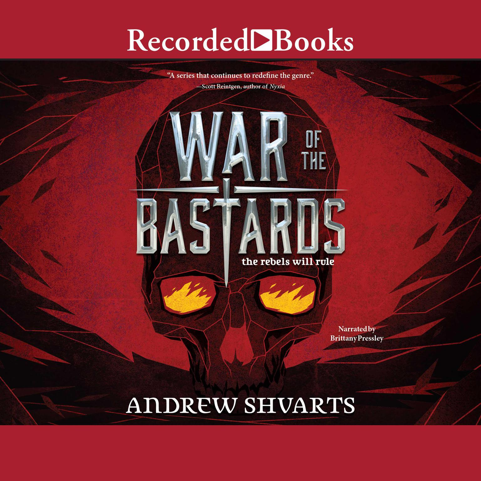 Printable War of the Bastards Audiobook Cover Art