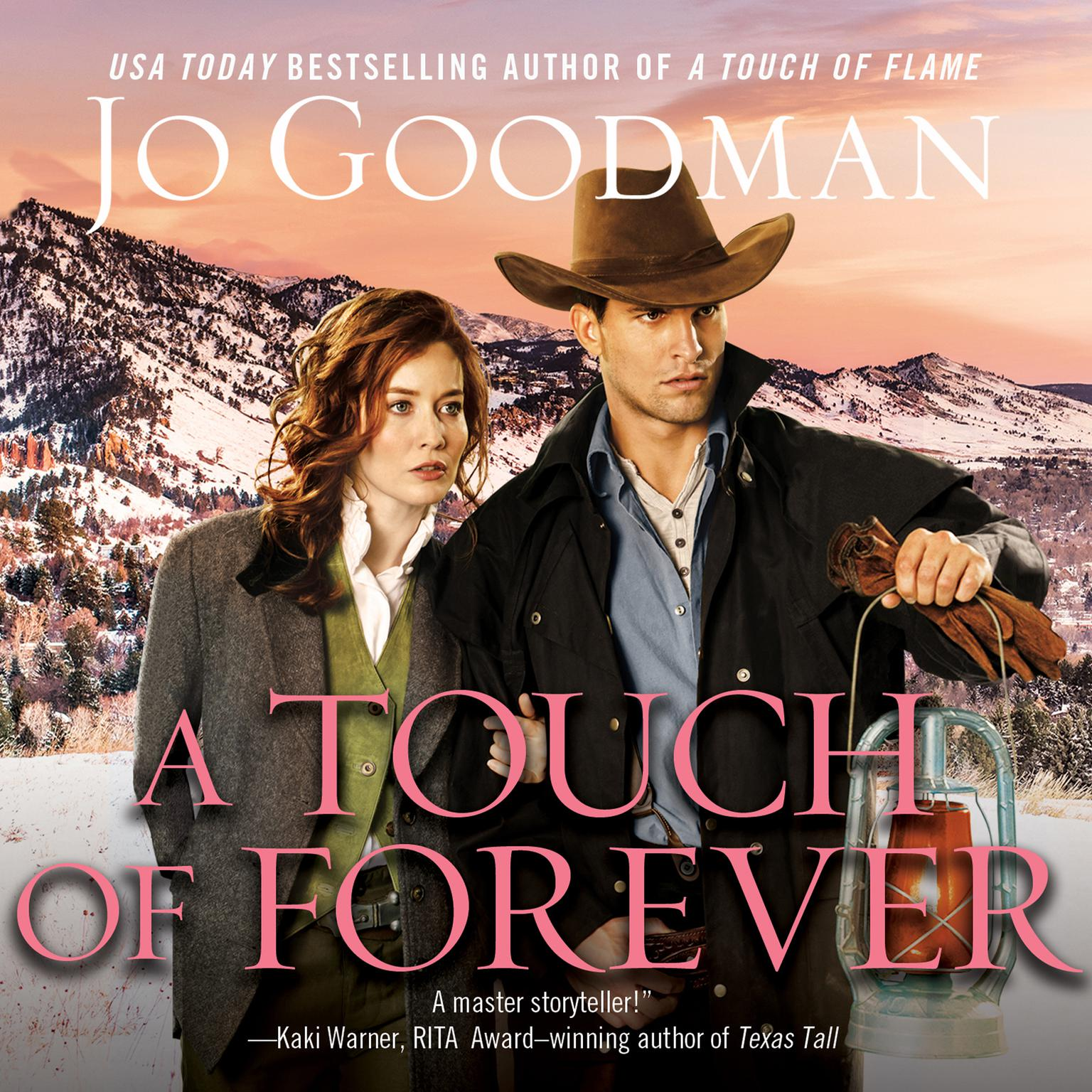 Printable A Touch of Forever Audiobook Cover Art