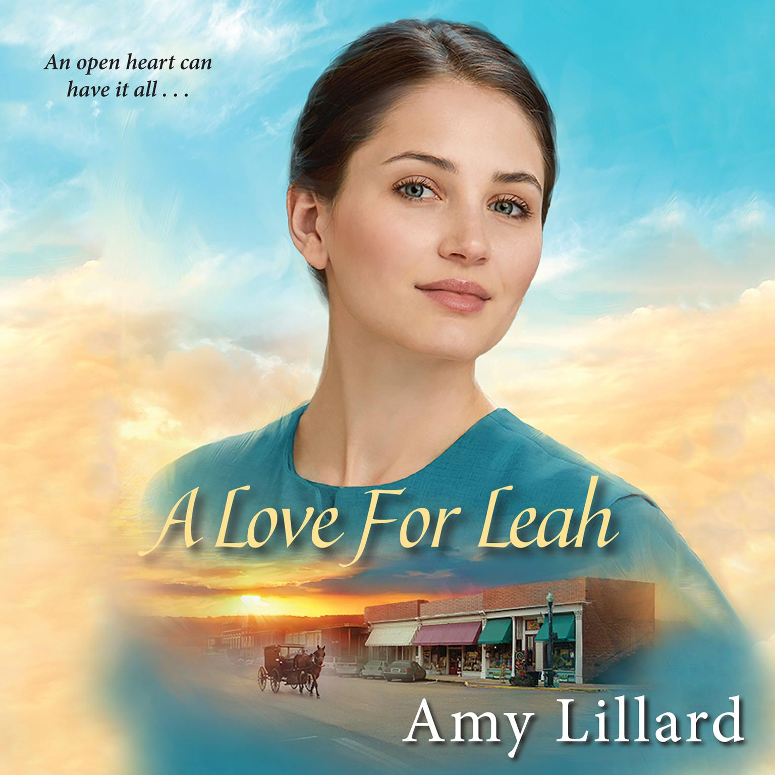 Printable A Love for Leah Audiobook Cover Art