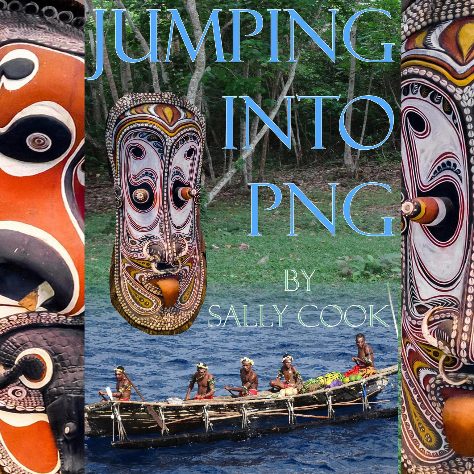 Printable Jumping Into PNG Audiobook Cover Art