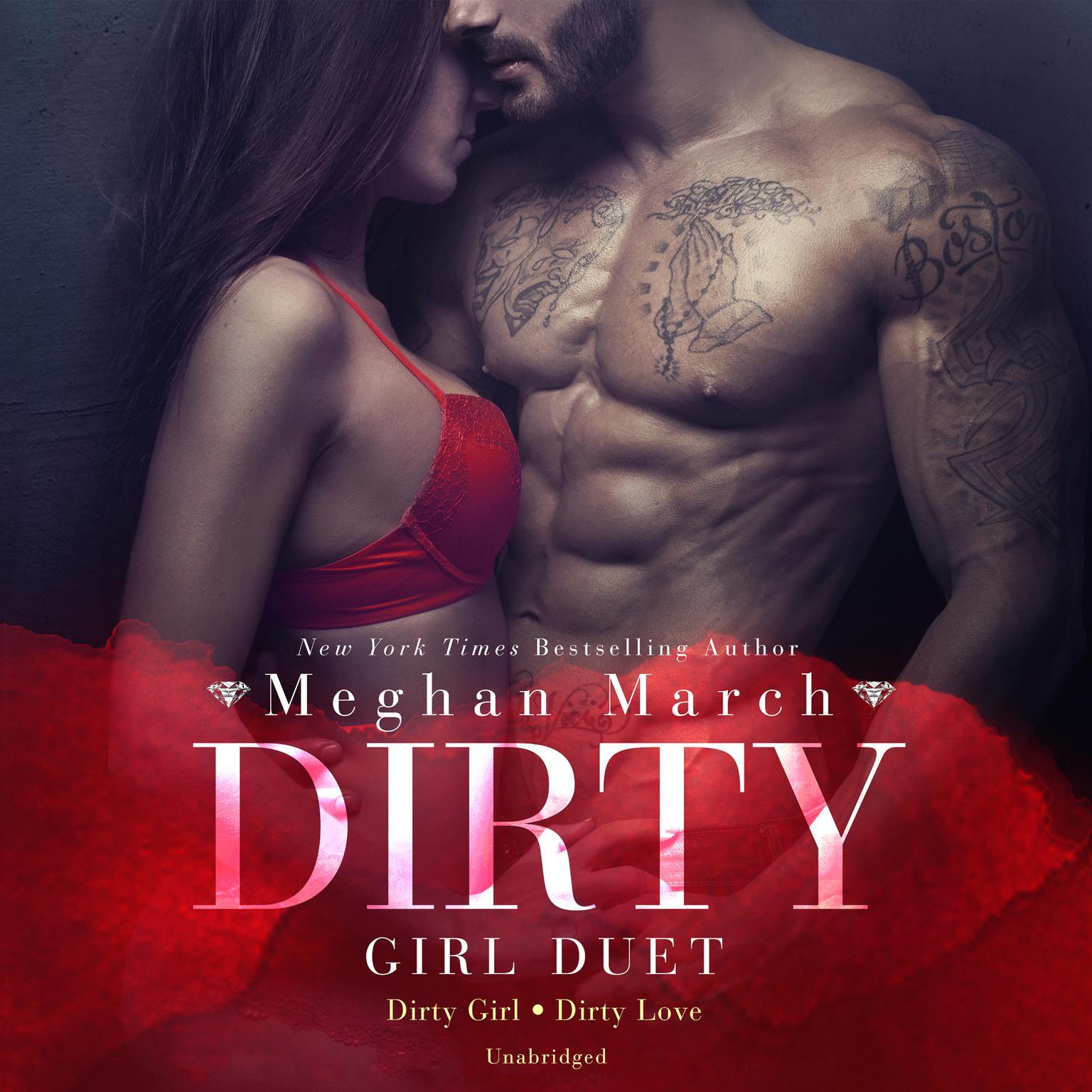 Printable Dirty Girl Duet Audiobook Cover Art