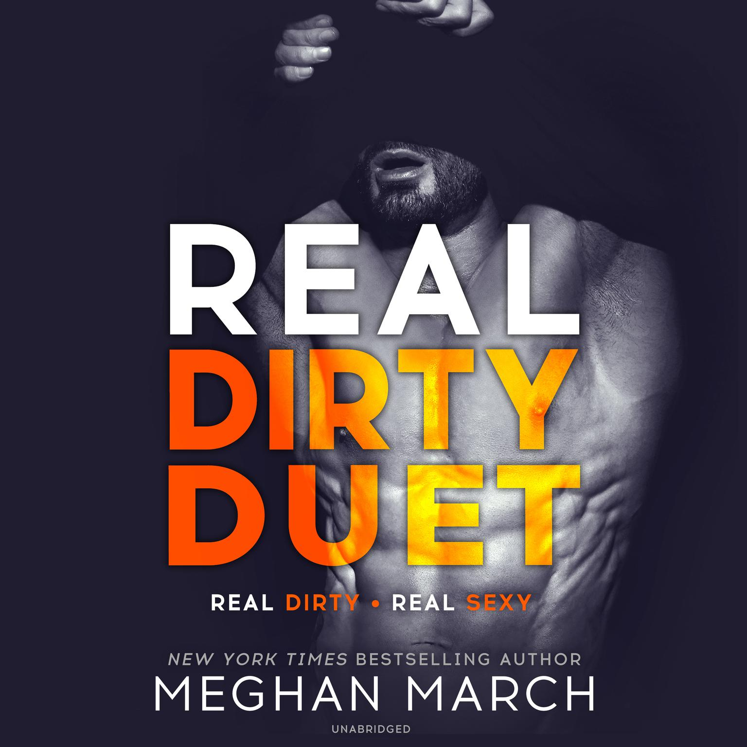 Printable Real Dirty Duet Audiobook Cover Art