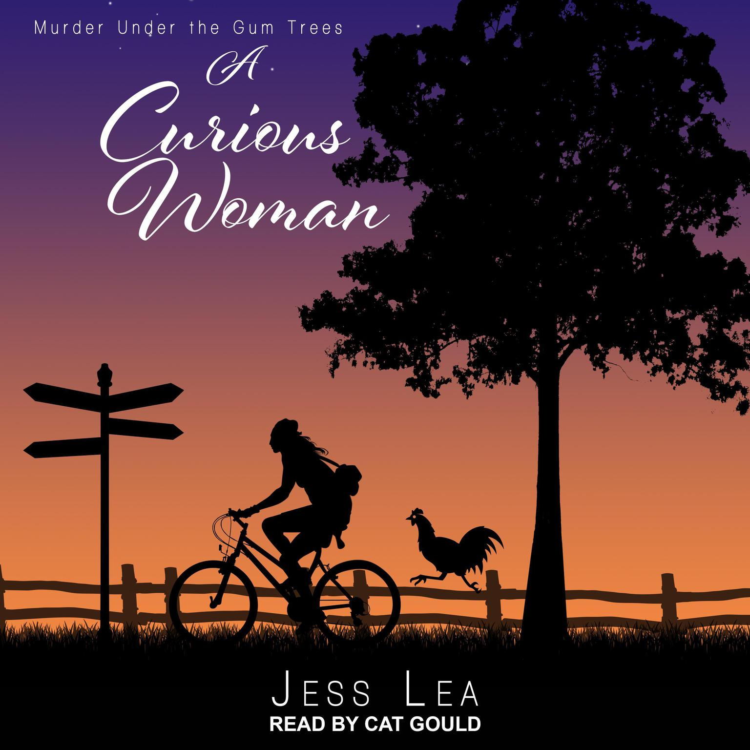 Printable A Curious Woman Audiobook Cover Art