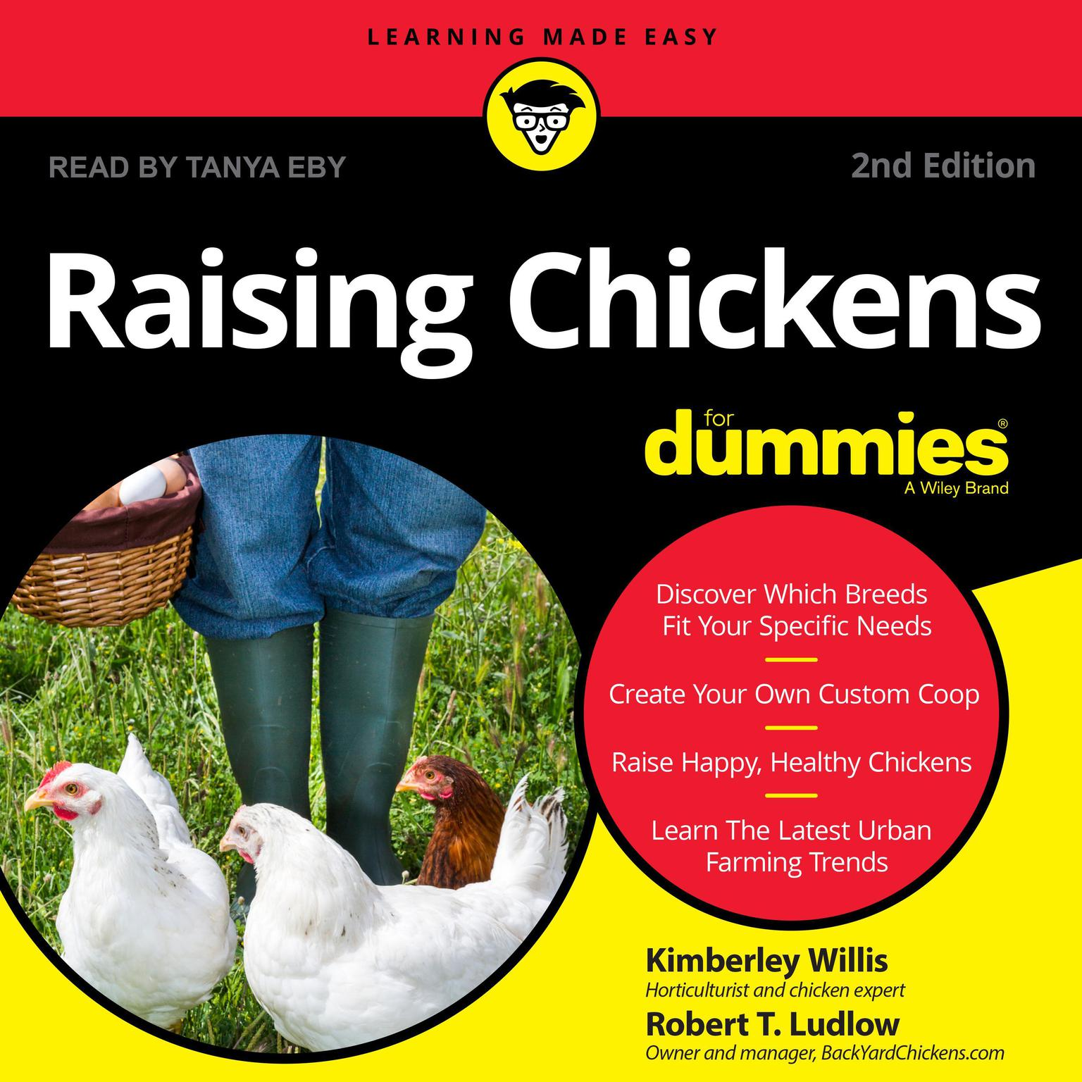 Printable Raising Chickens For Dummies: 2nd Edition Audiobook Cover Art