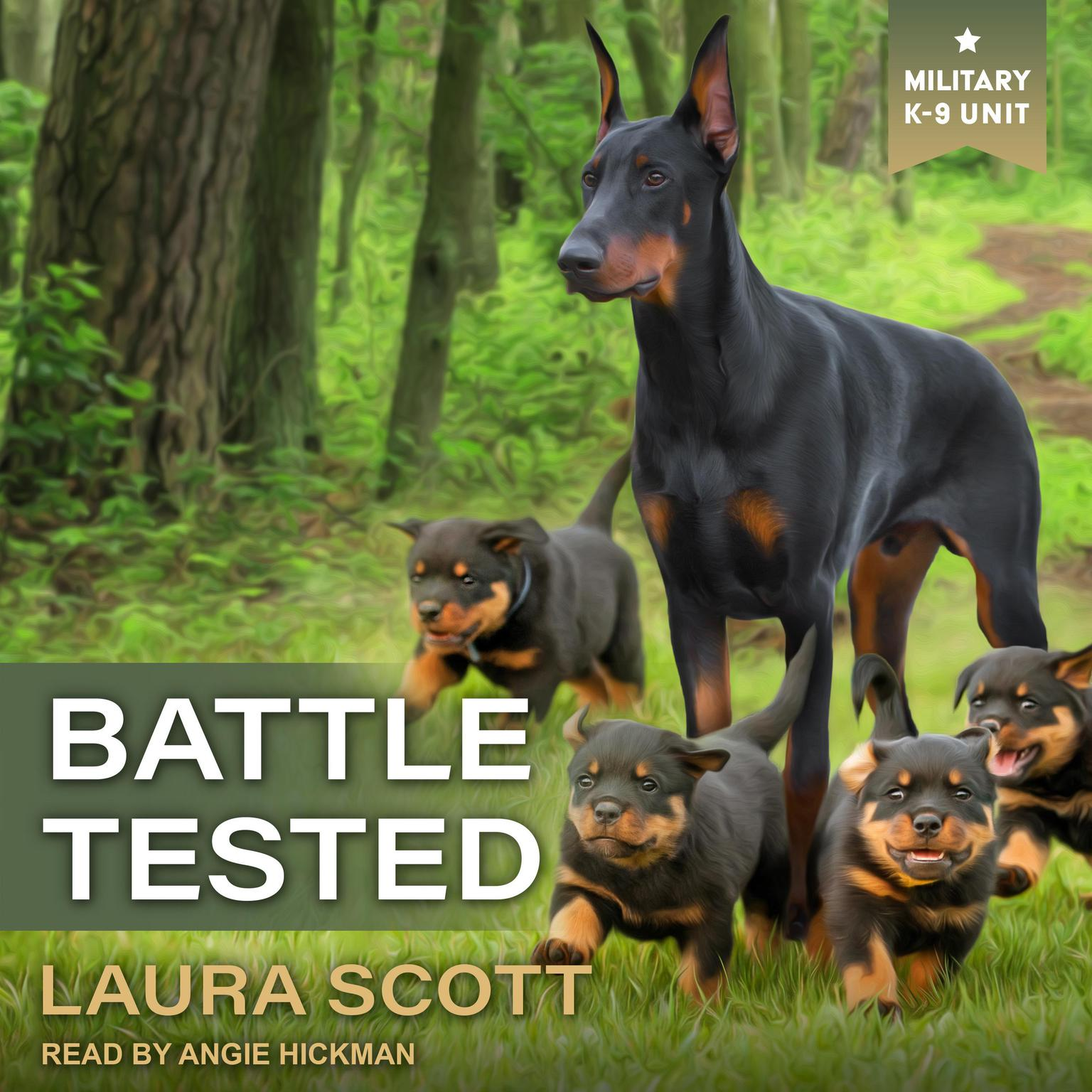 Printable Battle Tested Audiobook Cover Art
