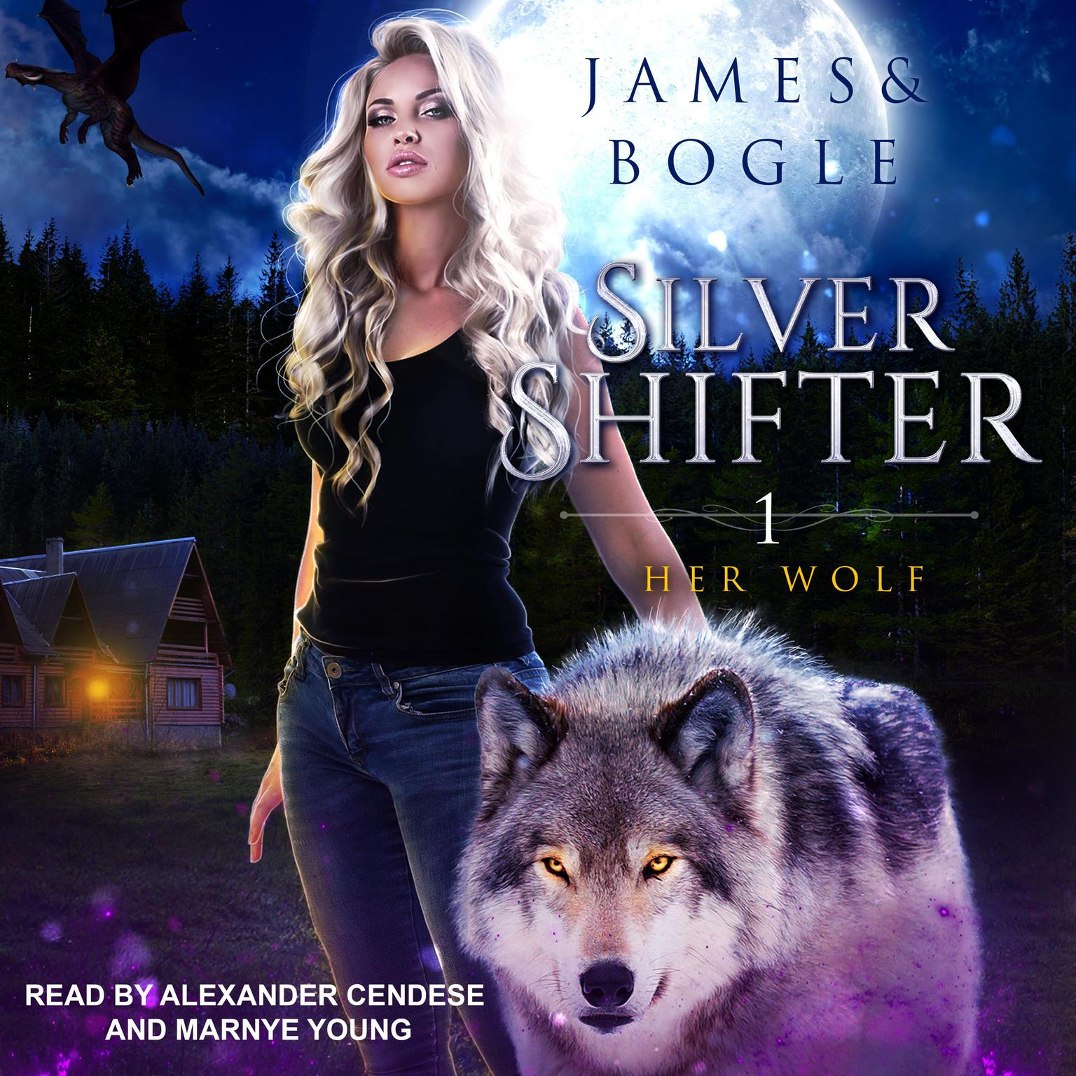 Printable Her Wolf Audiobook Cover Art