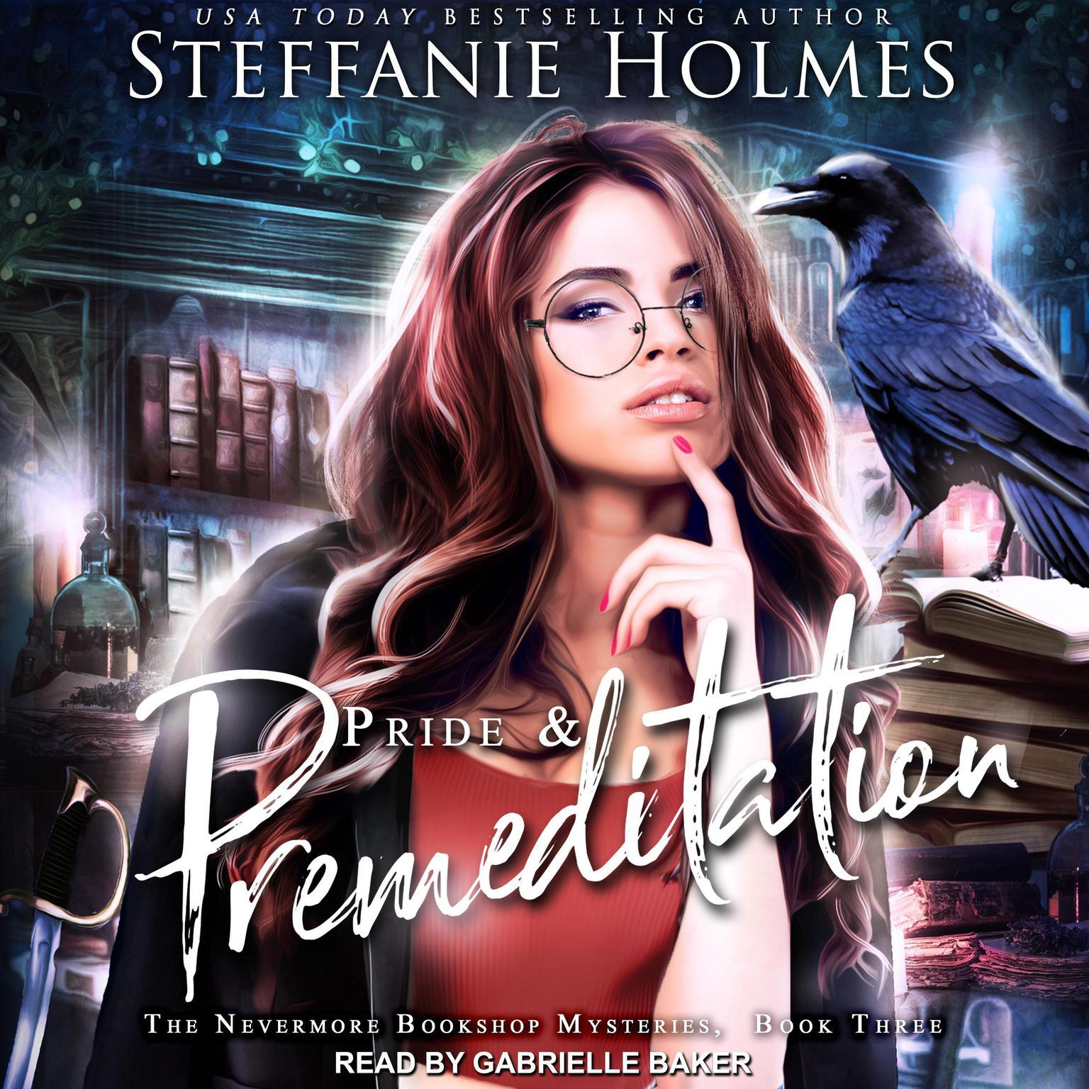 Printable Pride and Premeditation Audiobook Cover Art