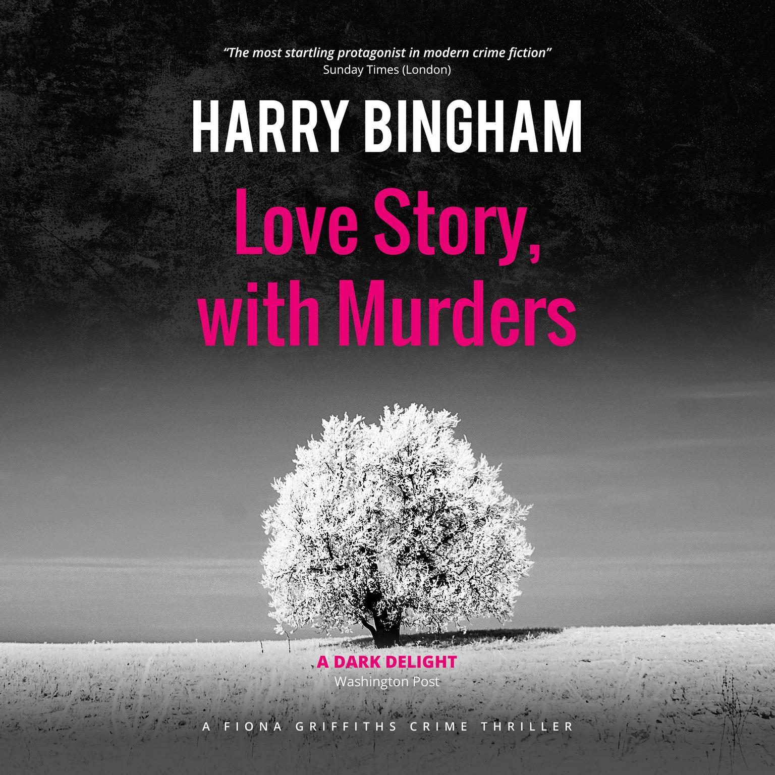 Printable Love Story, with Murders Audiobook Cover Art