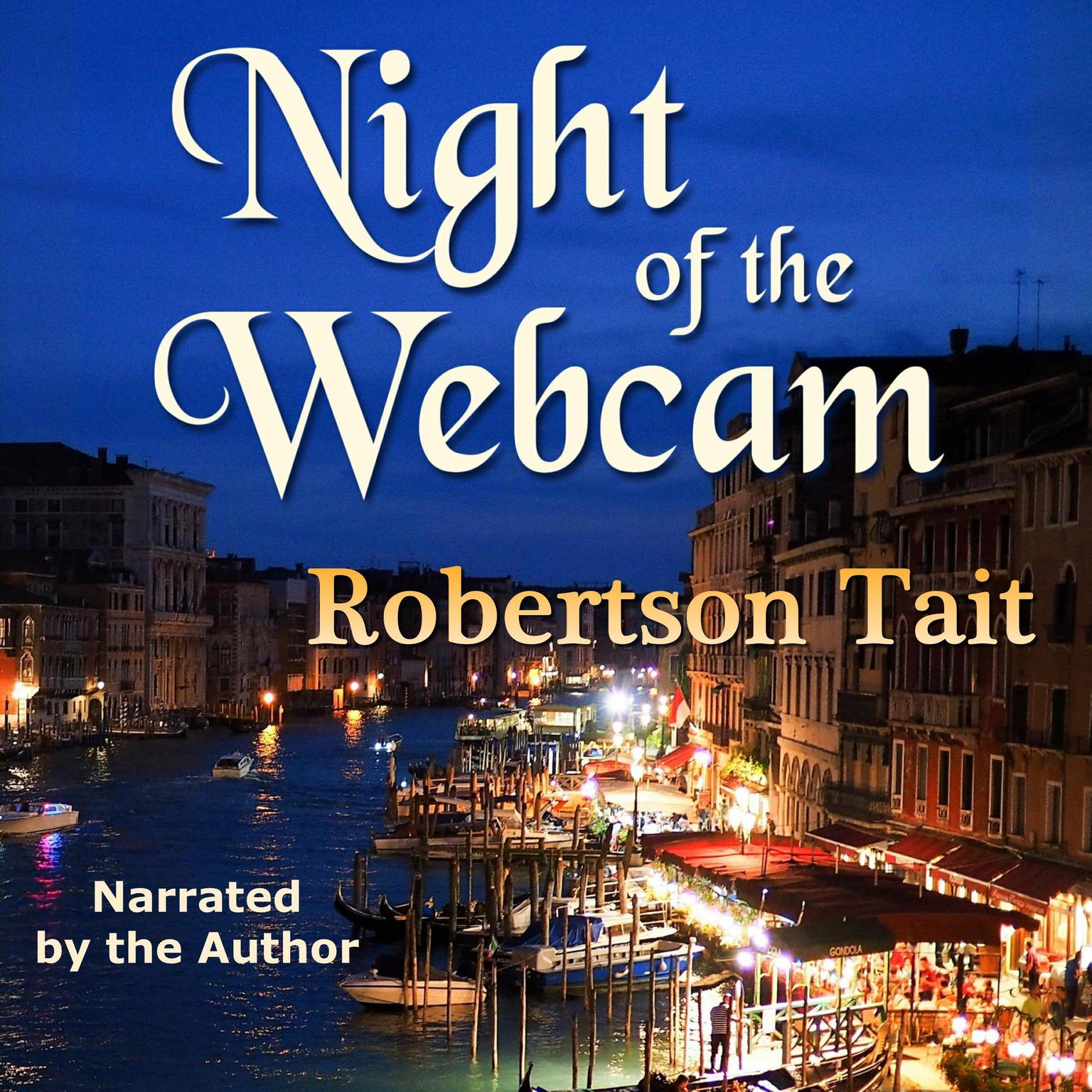 Printable Night of The Webcam Audiobook Cover Art