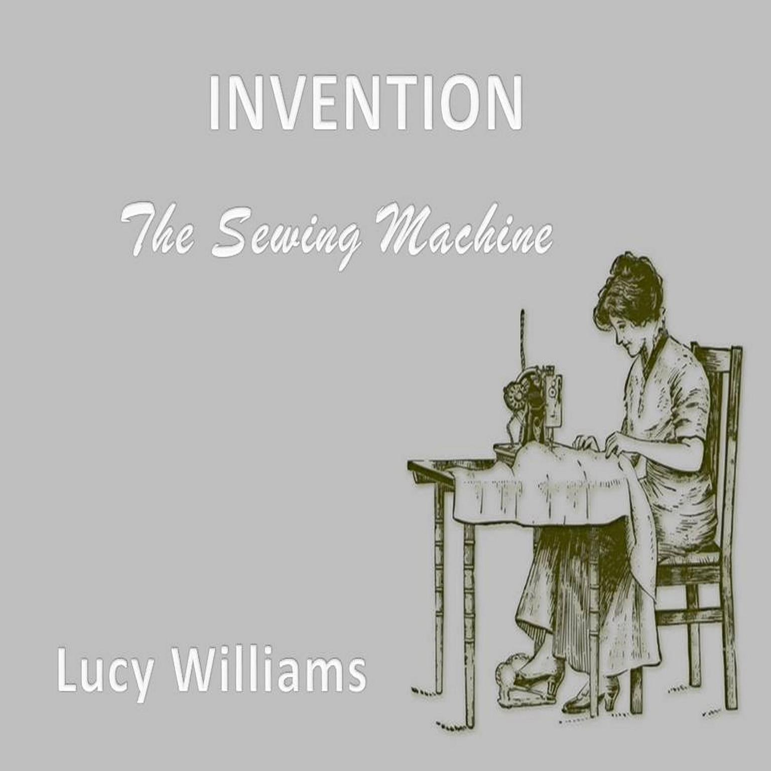 Printable Invention: : The Sewing Machine Audiobook Cover Art